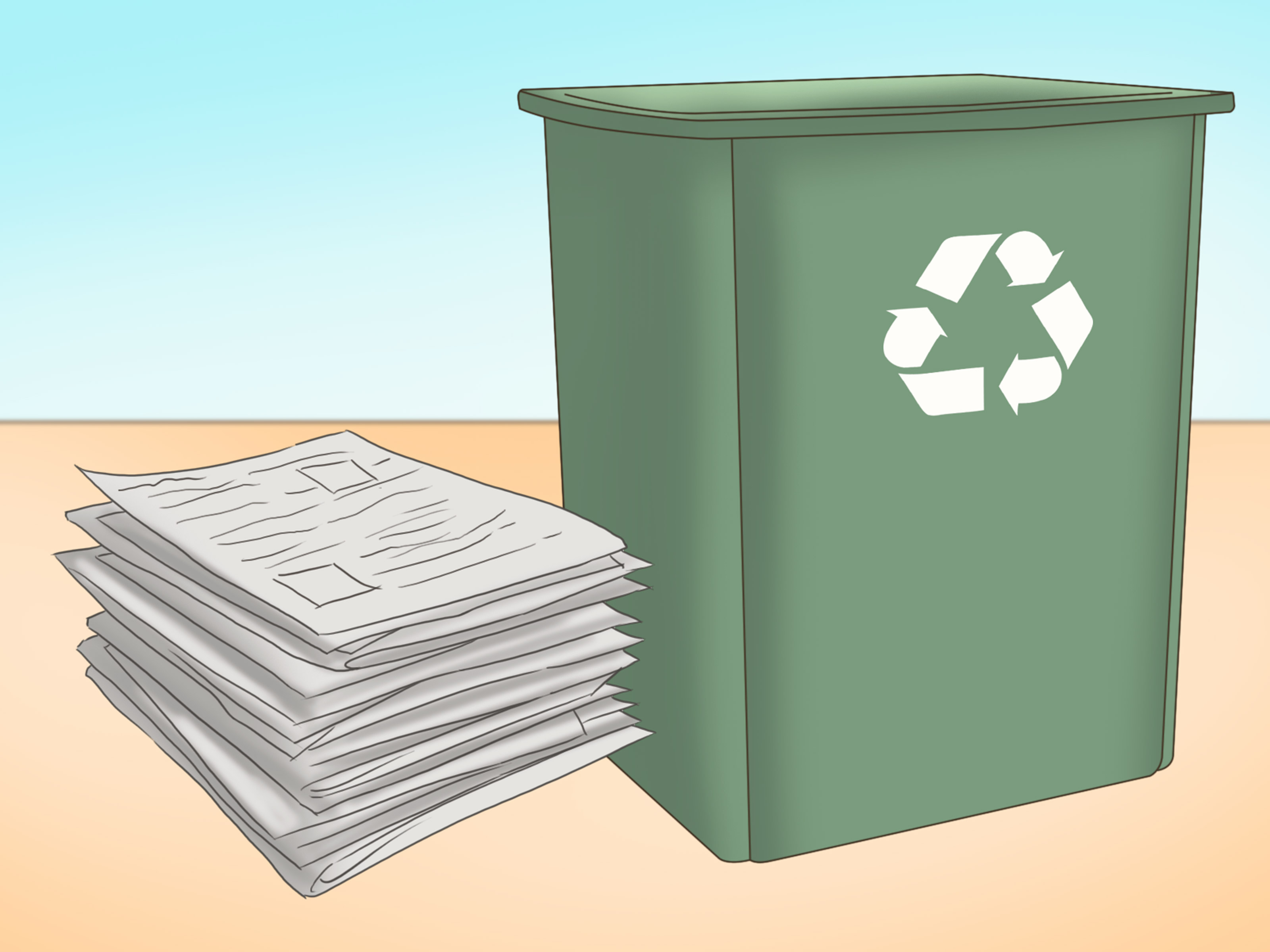 4 Ways to Reuse Old Newspapers - wikiHow