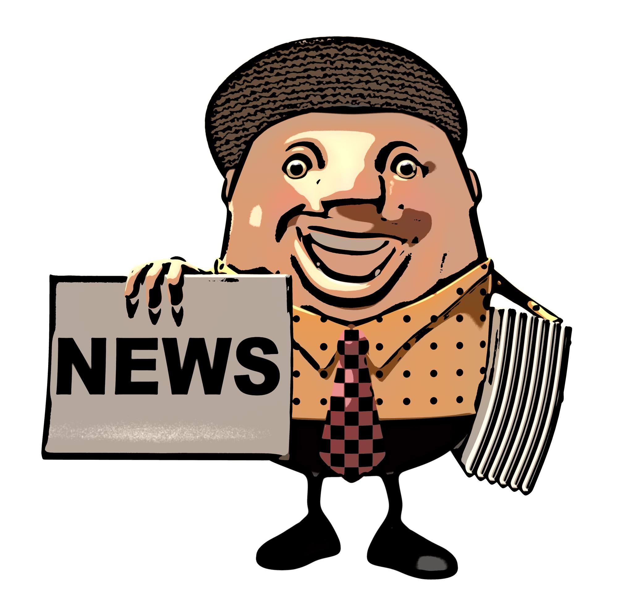 Newspaper boy, 3d, Publication, Local, Media, HQ Photo