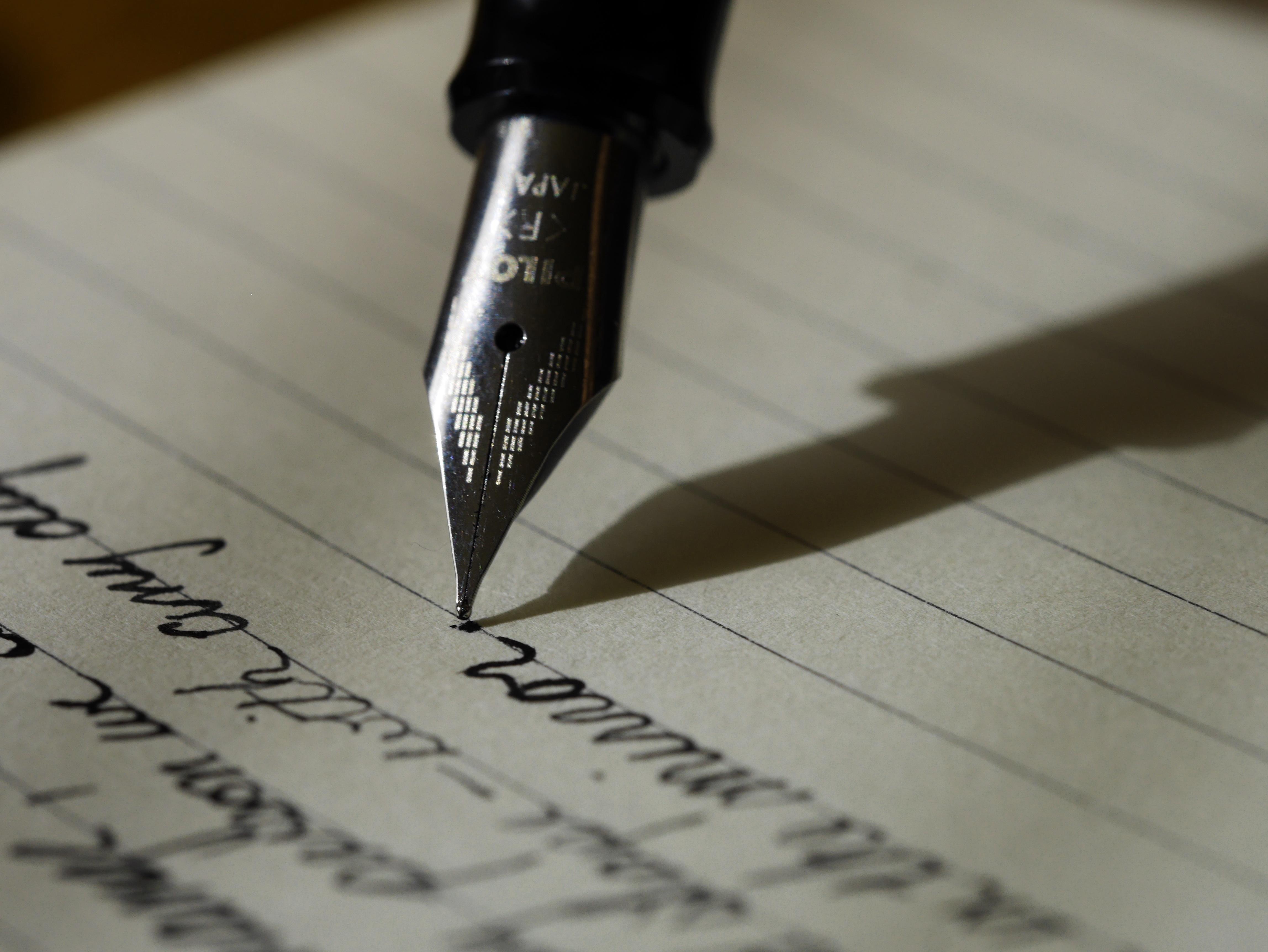 Nib, Copy, Ink, Pen, Write, HQ Photo