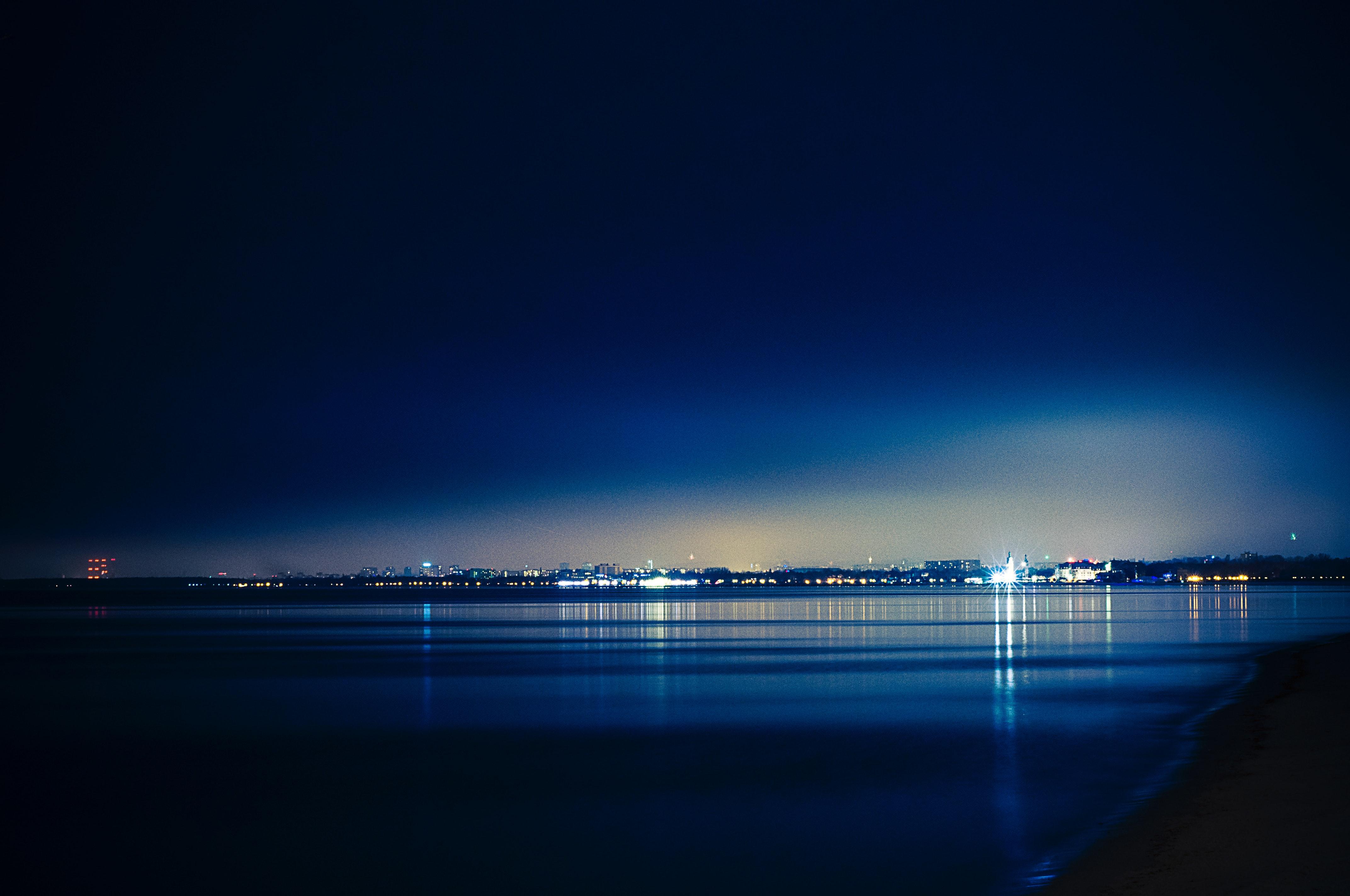 Free stock photo of dark, lights, night