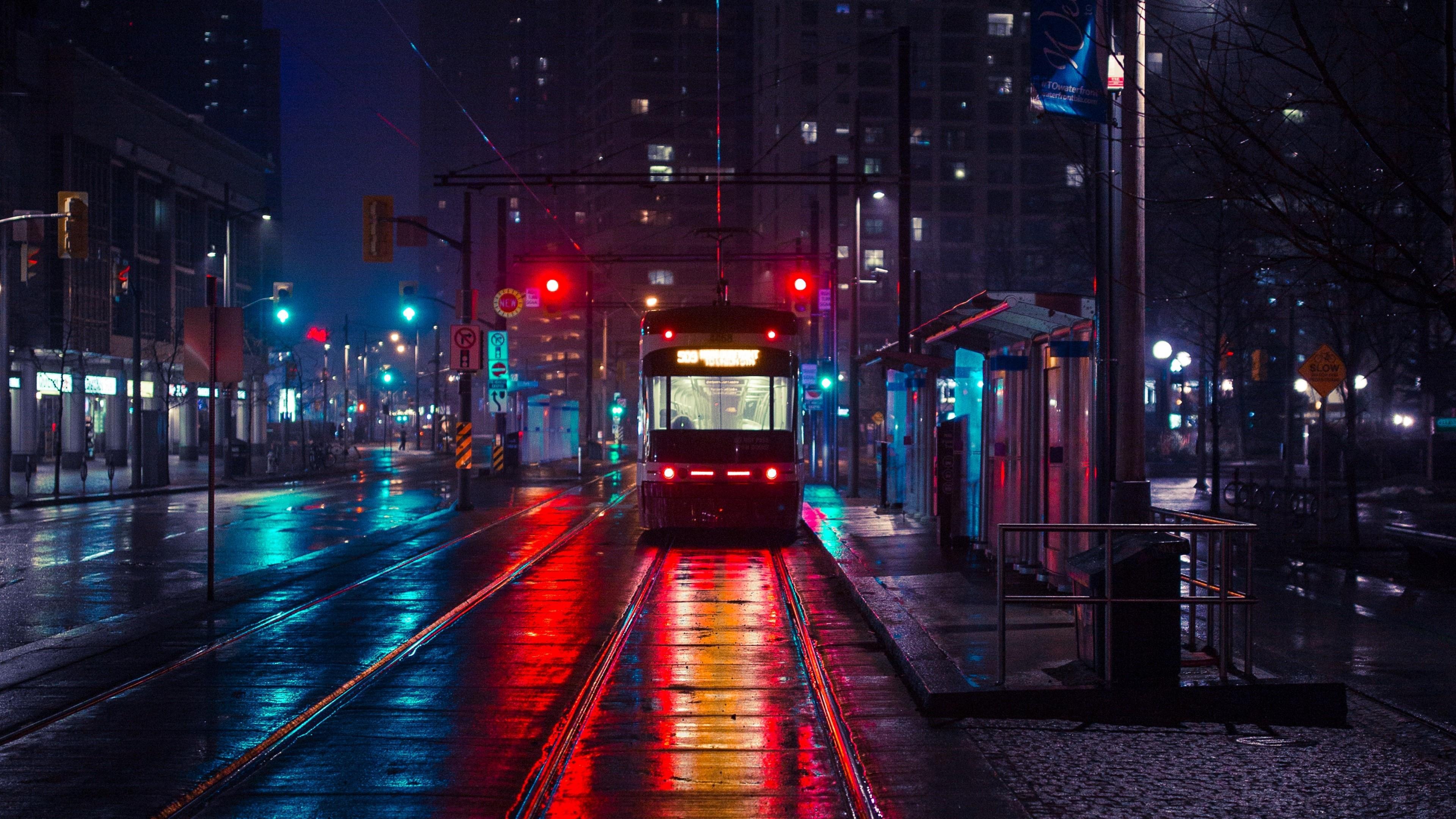 Free Photo Night City