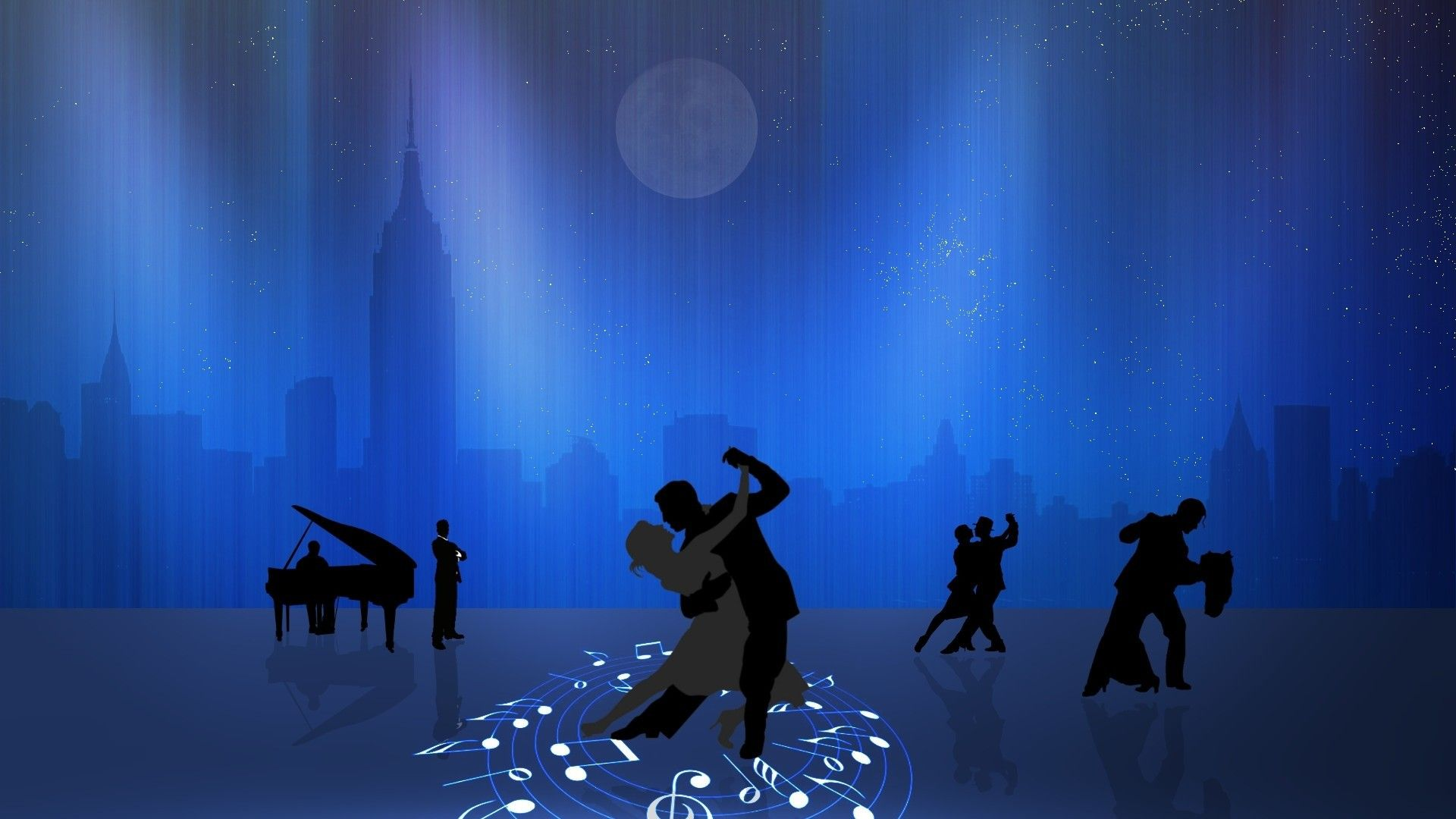 Dance the night city wallpapers and images wallpapers pictures | 3D ...