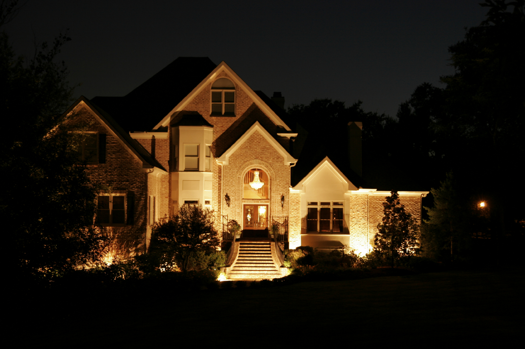 House at Night -