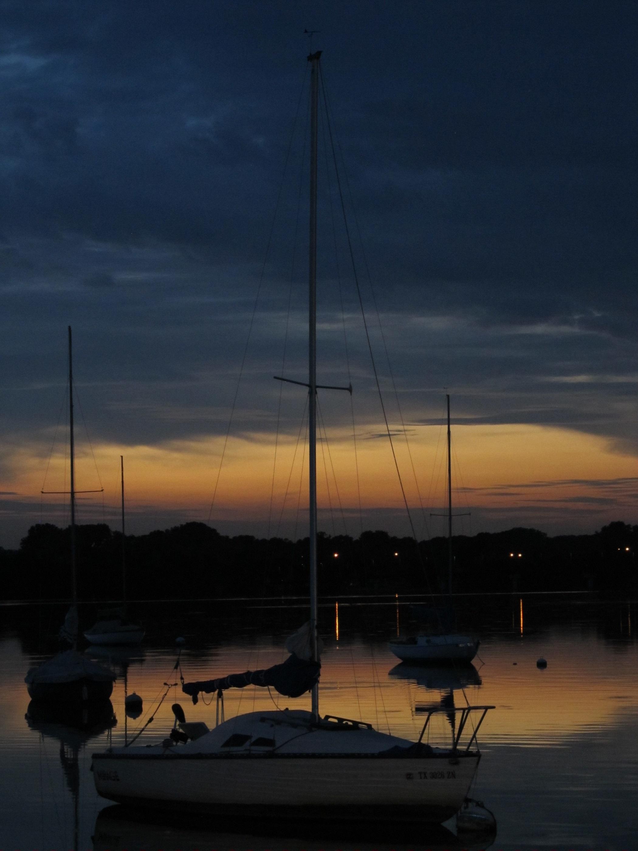 Night Life, Boats, Last, Nature, Night, HQ Photo