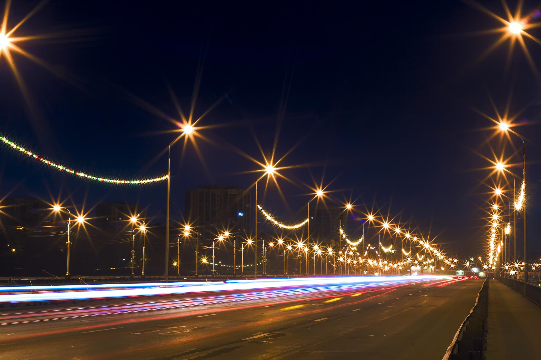 Night scene photo