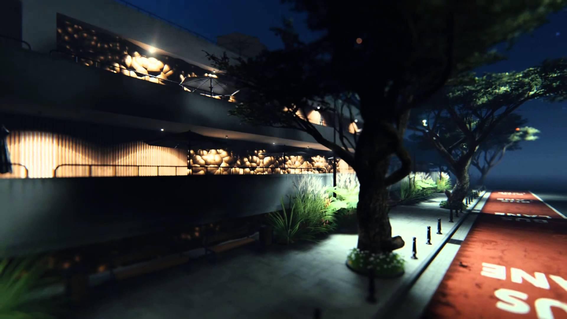 Lumion Night scene - YouTube
