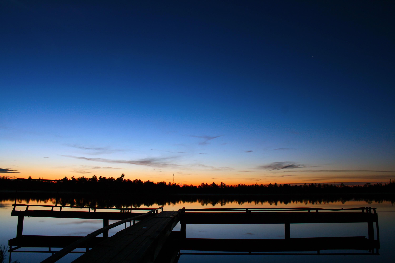 Night scene from the pier photo