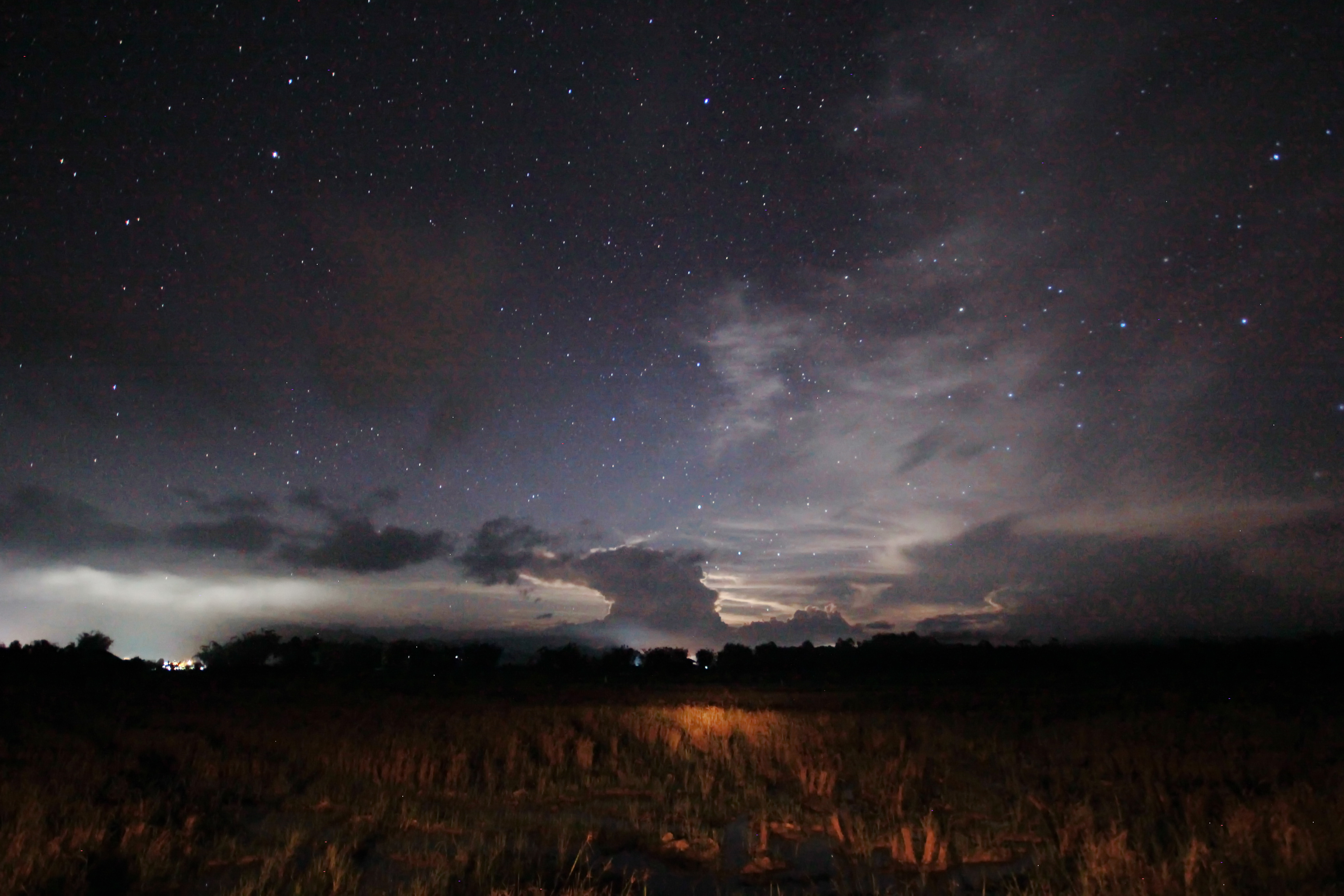 Night sky bario photo