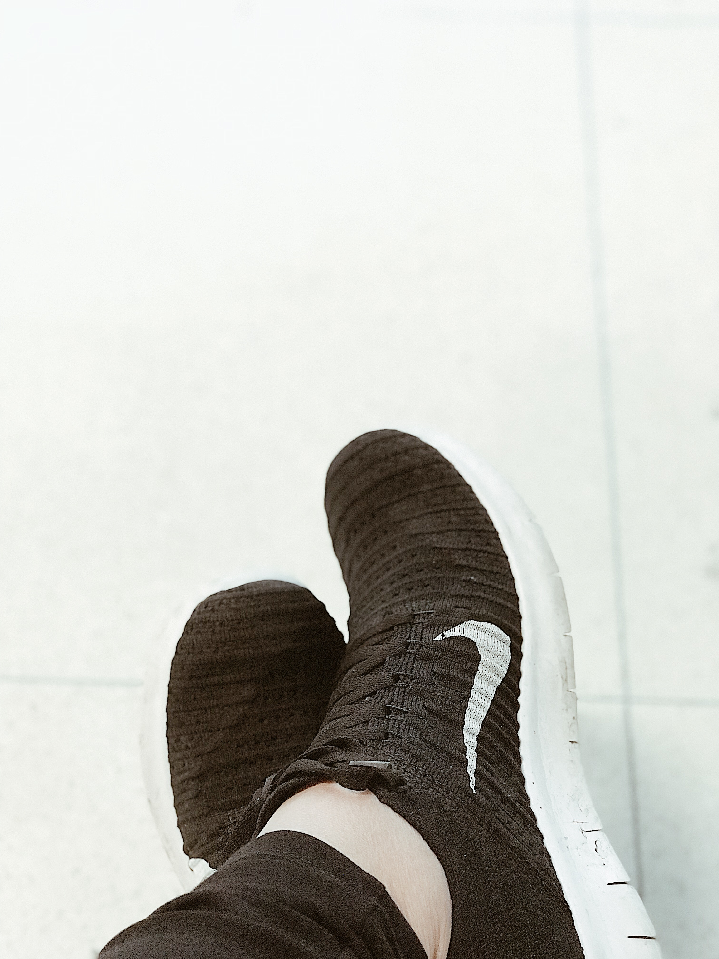 Nike running shoes photo