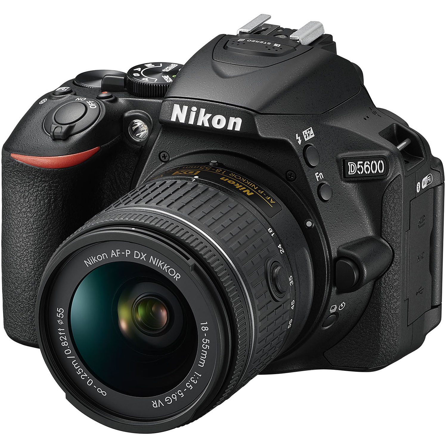 Nikon D5600 DSLR Camera with 18-55mm Lens 1576 B&H Photo Video