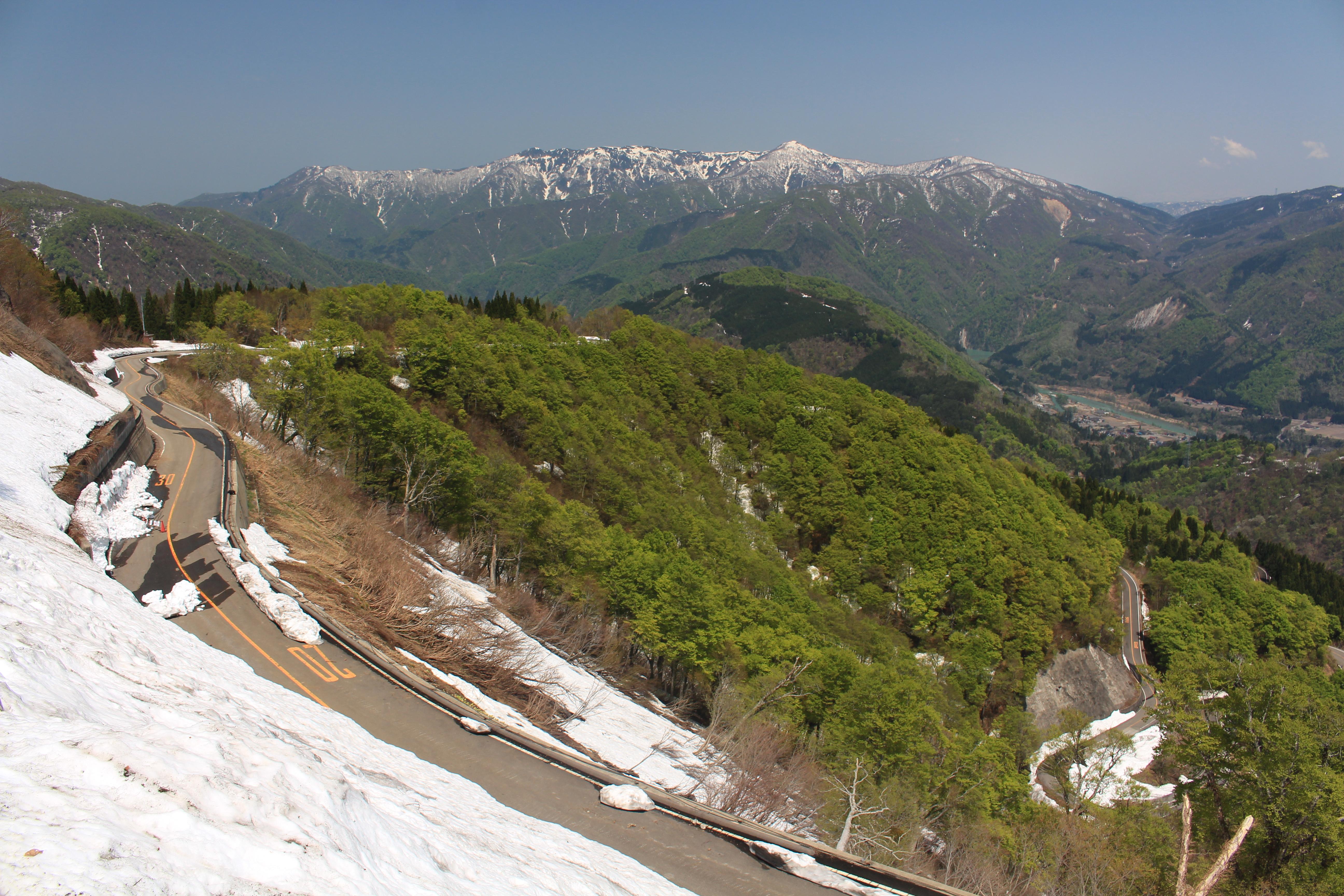 File:Mount Ningyo and Mount Mitsugatuji from Mount Sanpoiwa (2015-05 ...