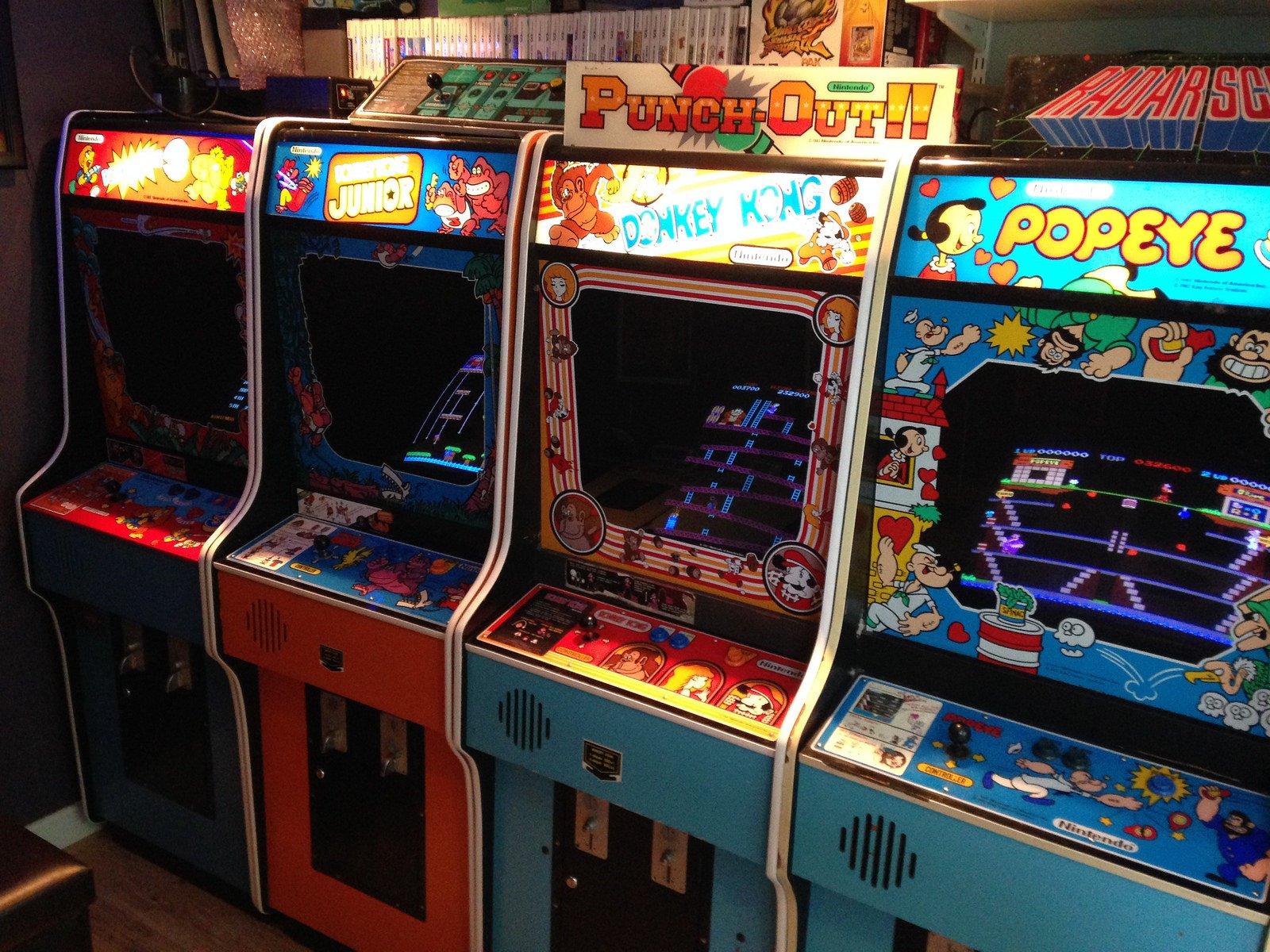 Nintendo arcade game photo
