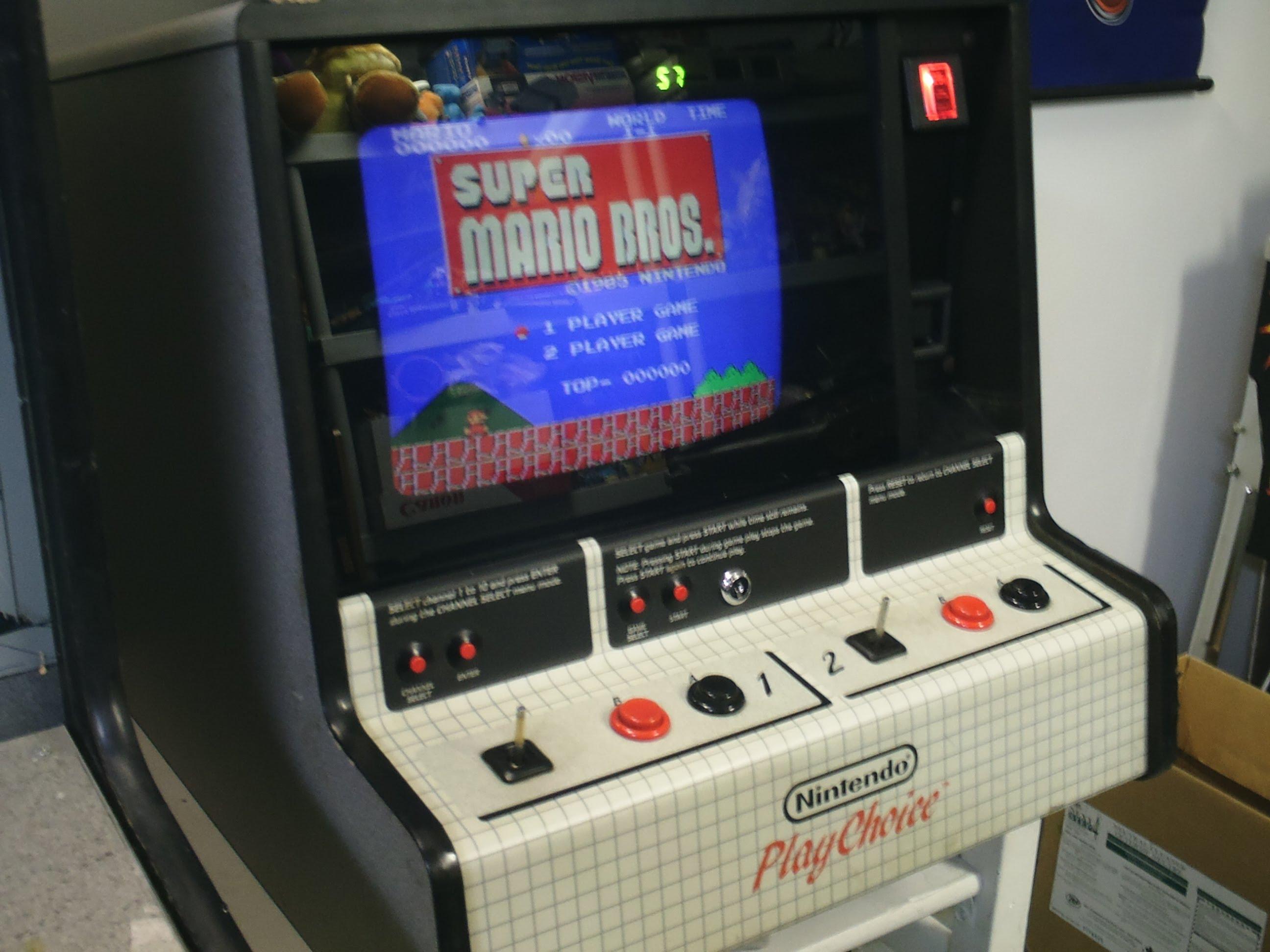 Nintendo PlayChoice 10 Arcade Machine Review - YouTube