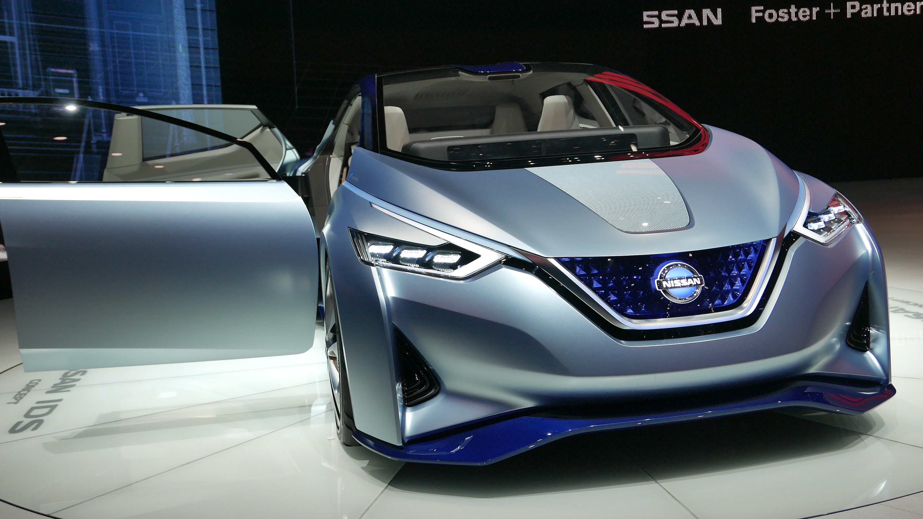 Nissan ids concept photo