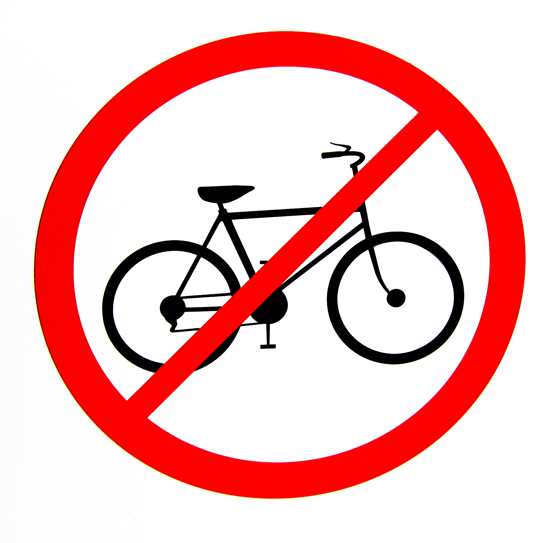 No Bicycles allowed, Bicycle, Prohibited, Warning, Threat, HQ Photo