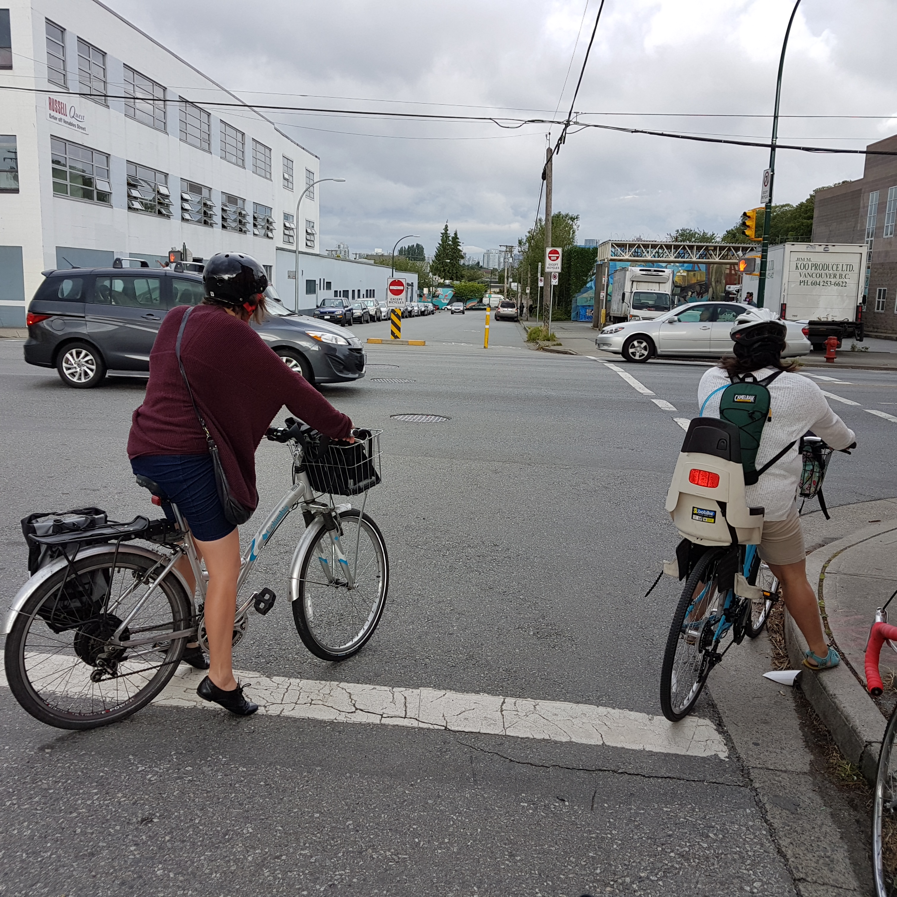 No electric bicycles in 2007, in 2016 i see at least a couple every day! yay! 20160705_082642 photo