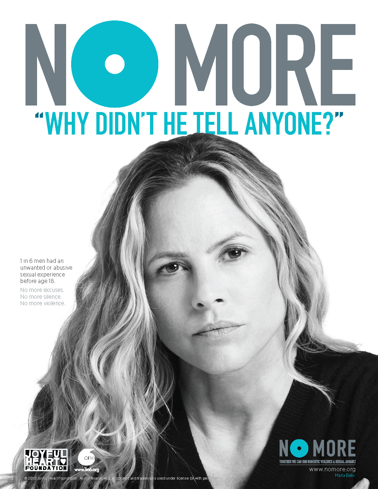 NO MORE Print Ads - NOMORE.org | Together we can end domestic ...