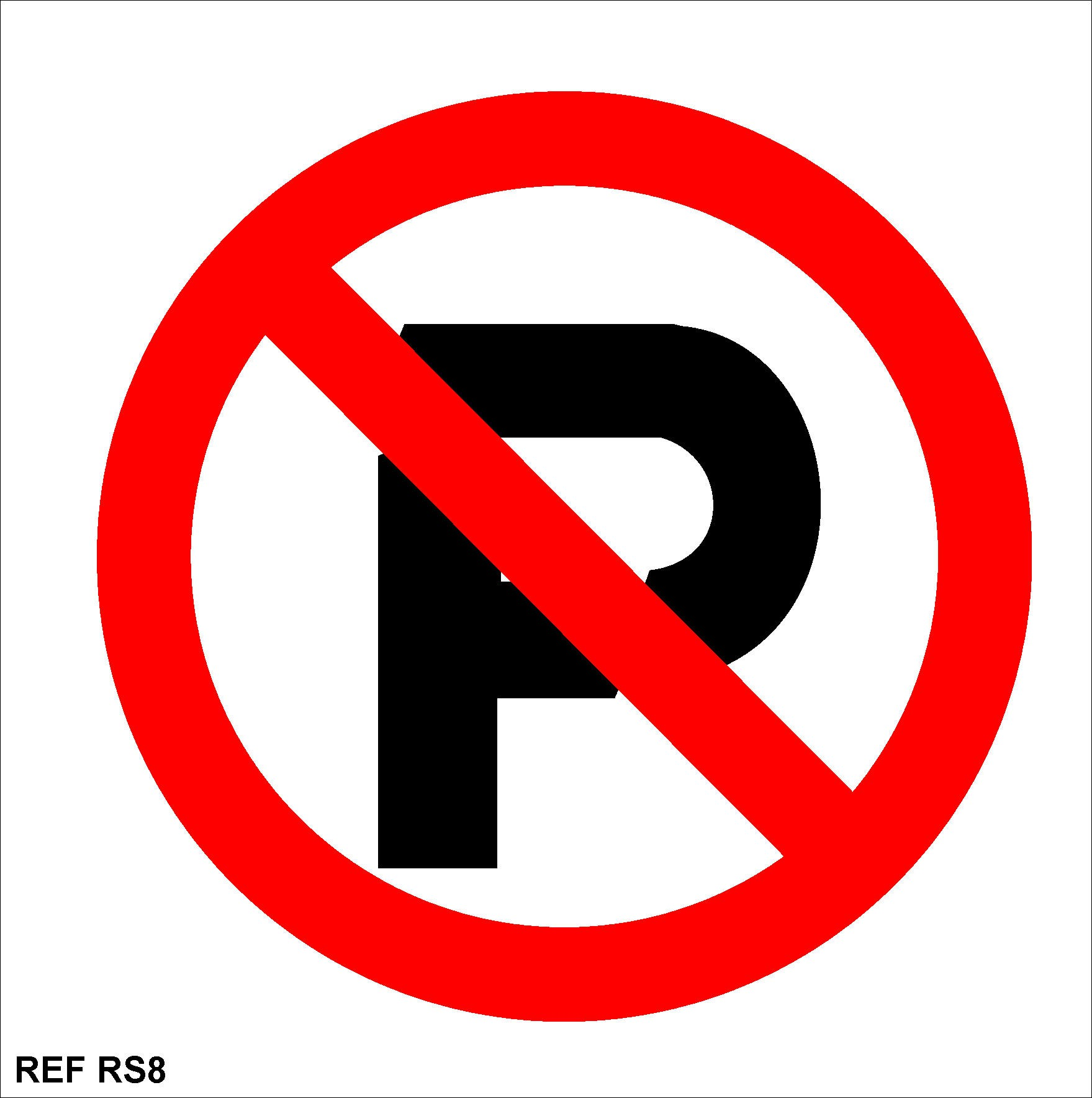Redfern Labels: No Parking signs 150x150 rs 8