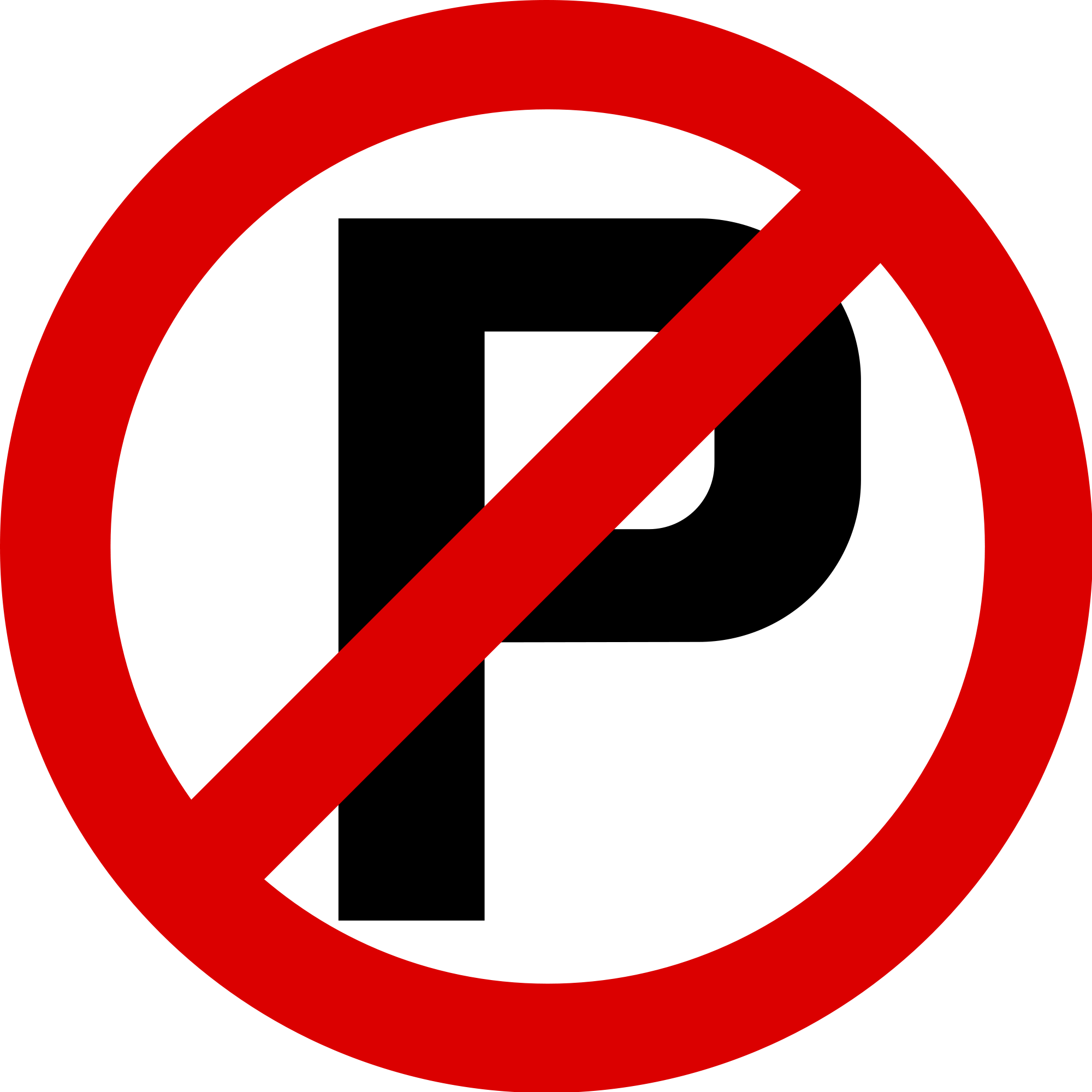 File:Singapore Road Signs - Restrictive Sign - No Parking.svg ...