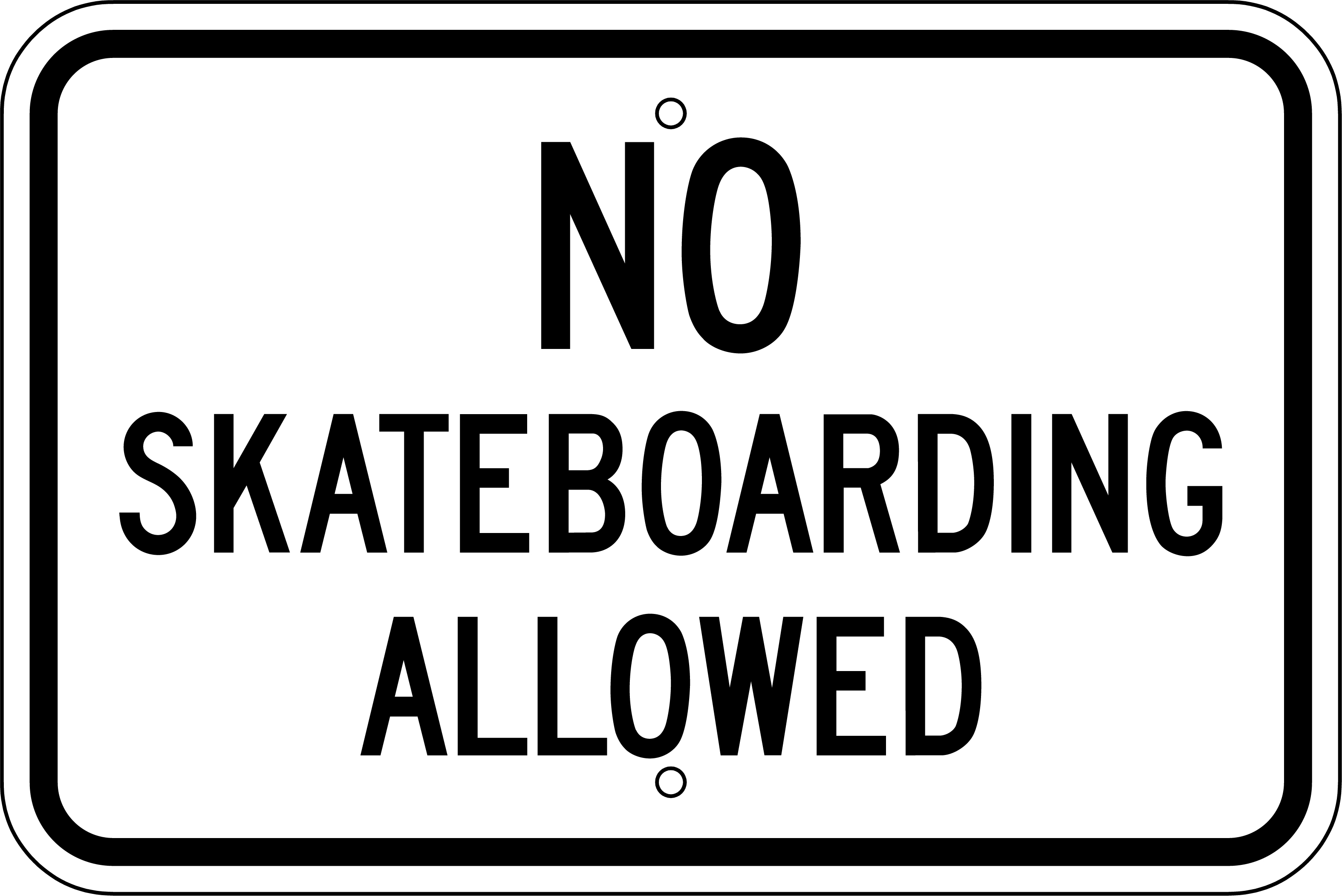 No skateboards allowed photo
