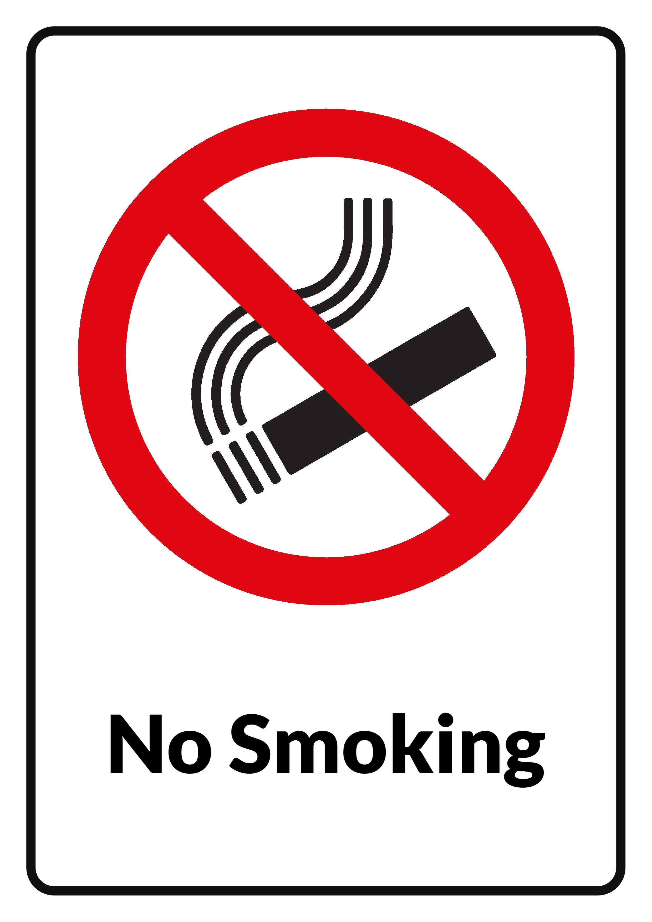 No smoking sign clip art free vector in open office drawing svg.