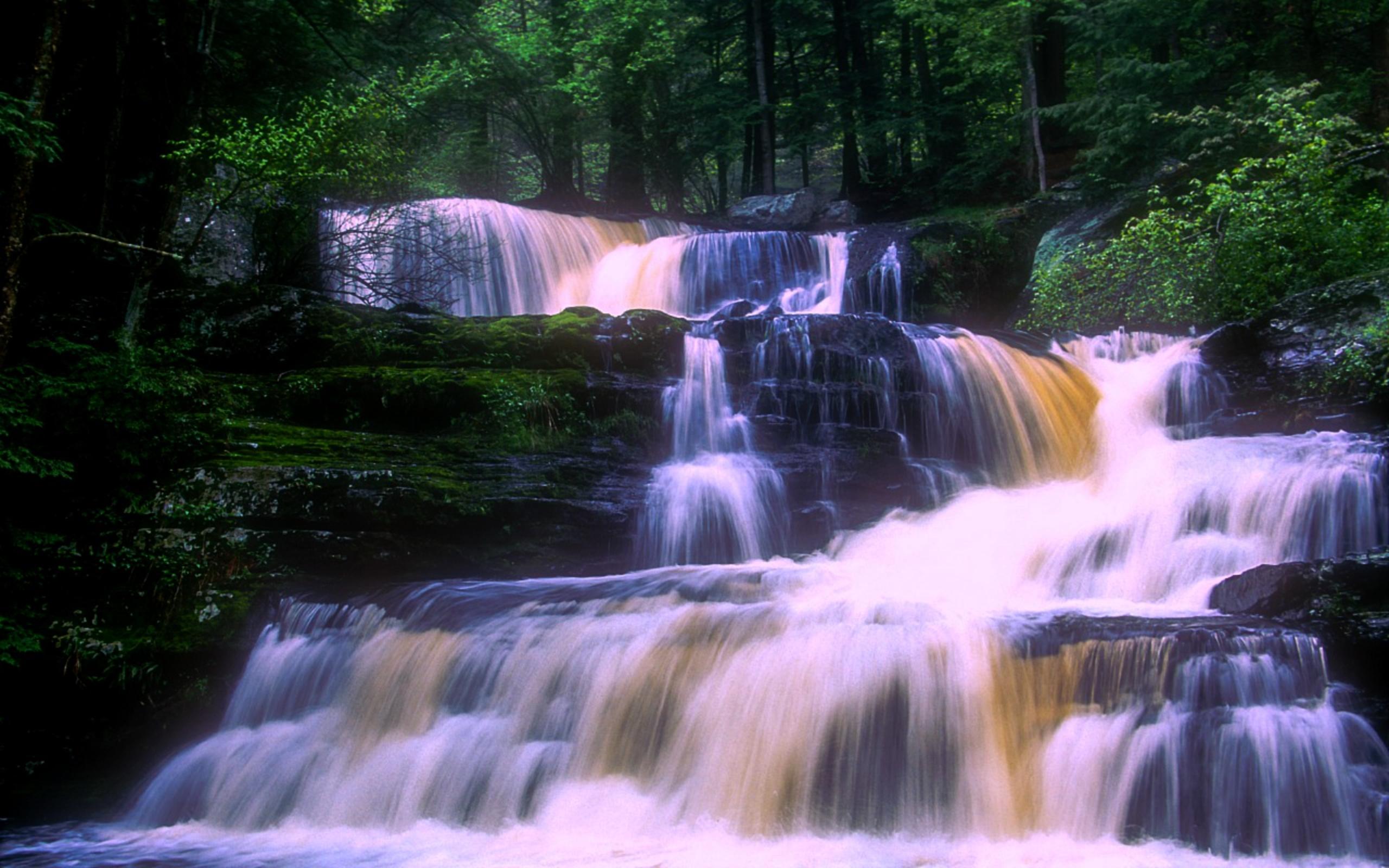 Waterfalls Near Delaware Water Gap Pa Hdwallpaperup ~ arafen