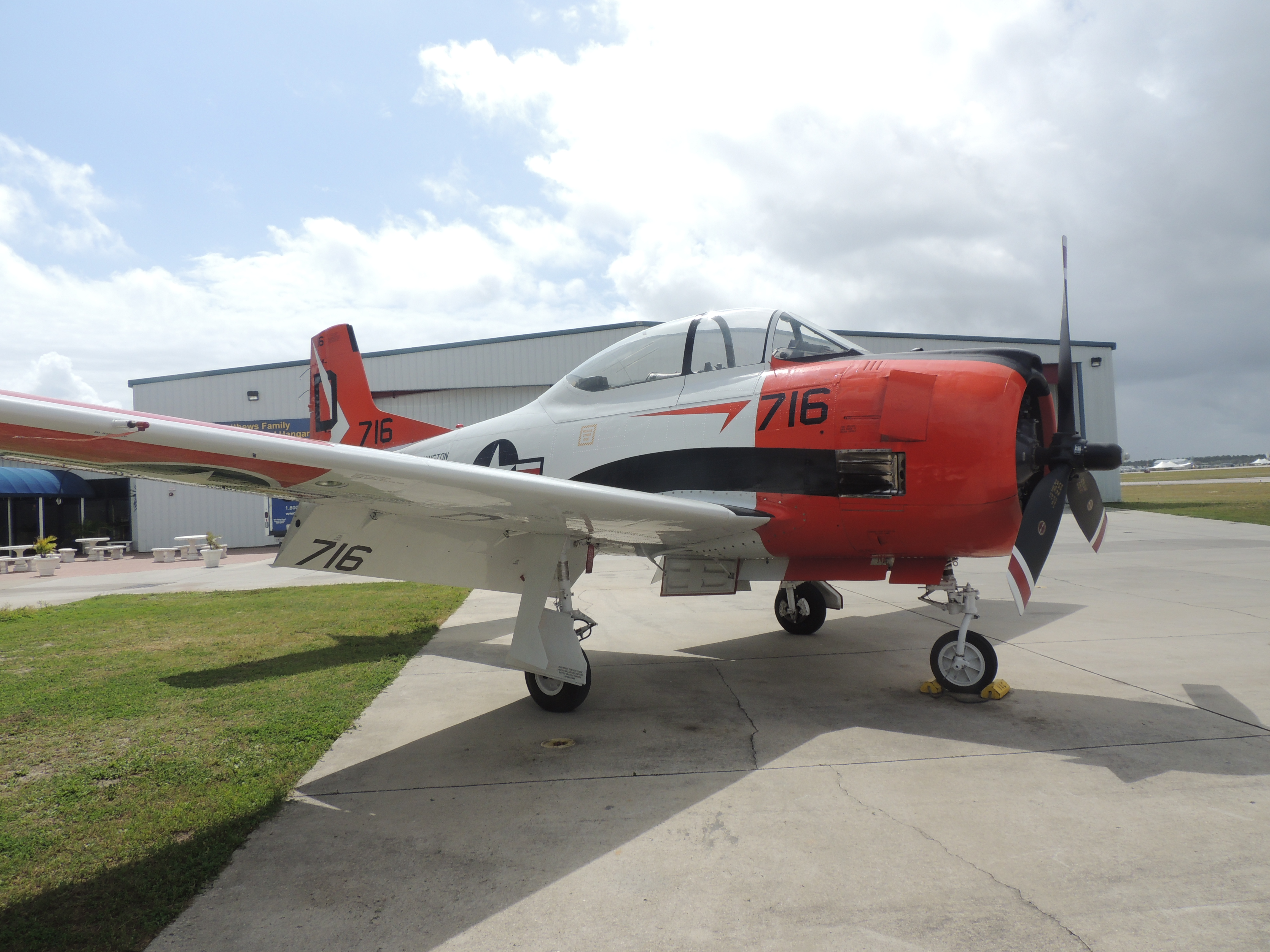 North american t-28 trojan photo