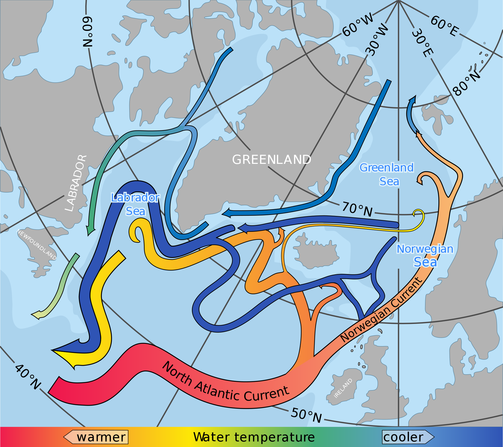 North Atlantic Current - Wikipedia