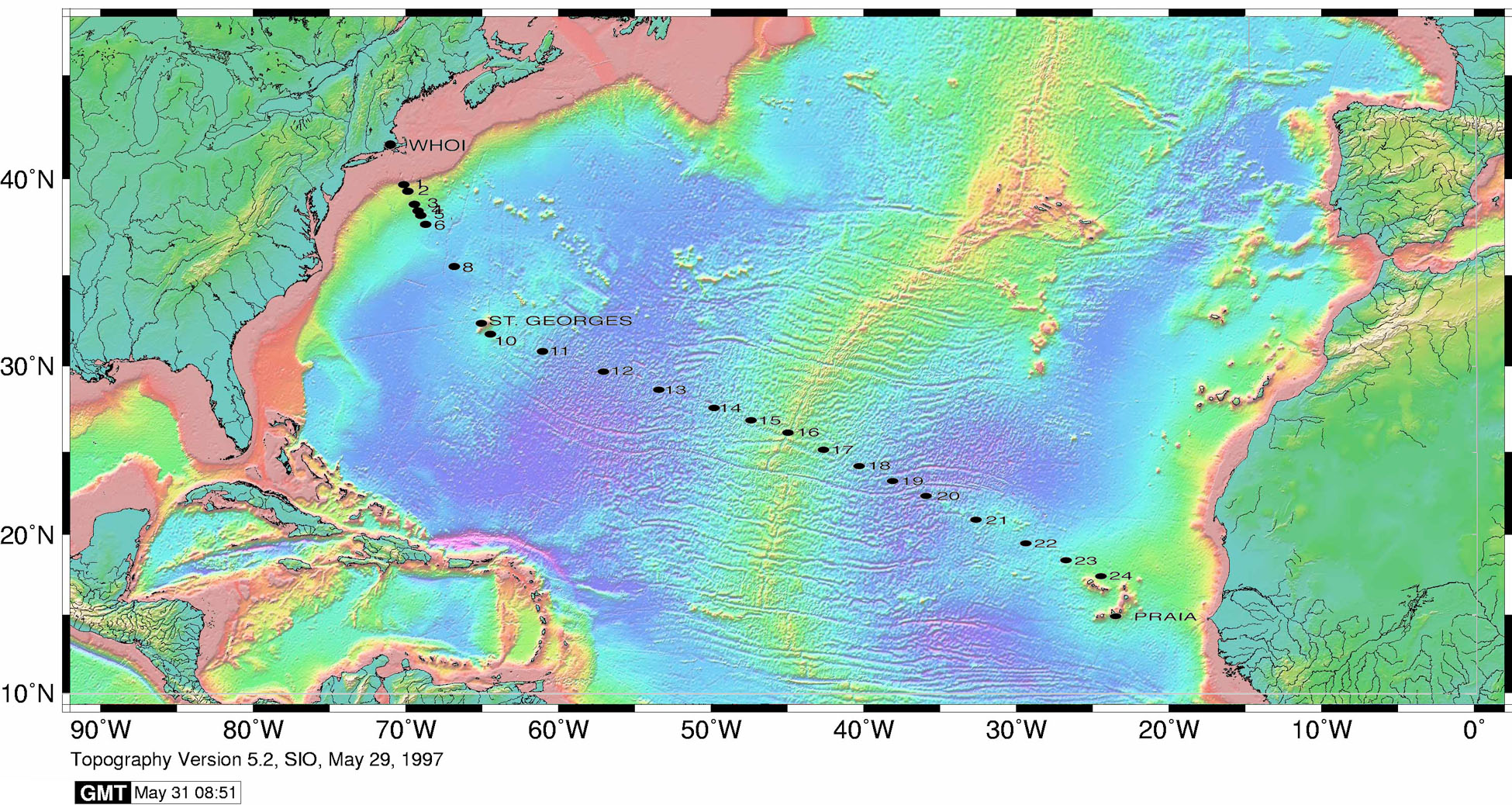 Project: U.S. GEOTRACES North Atlantic Transect | BCO-DMO