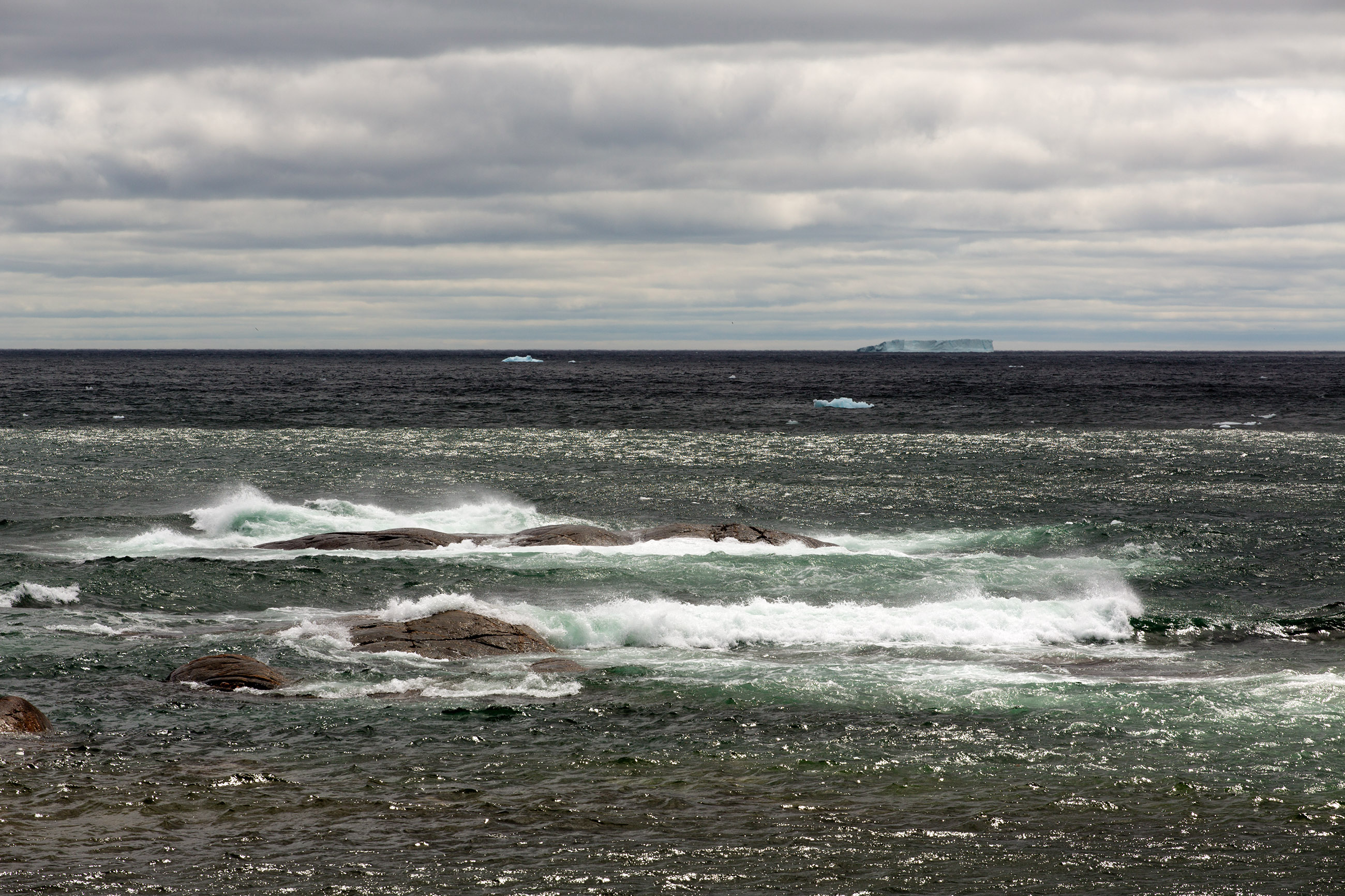 North Atlantic, Arctic, Rocks, Nature, Newfoundland, HQ Photo