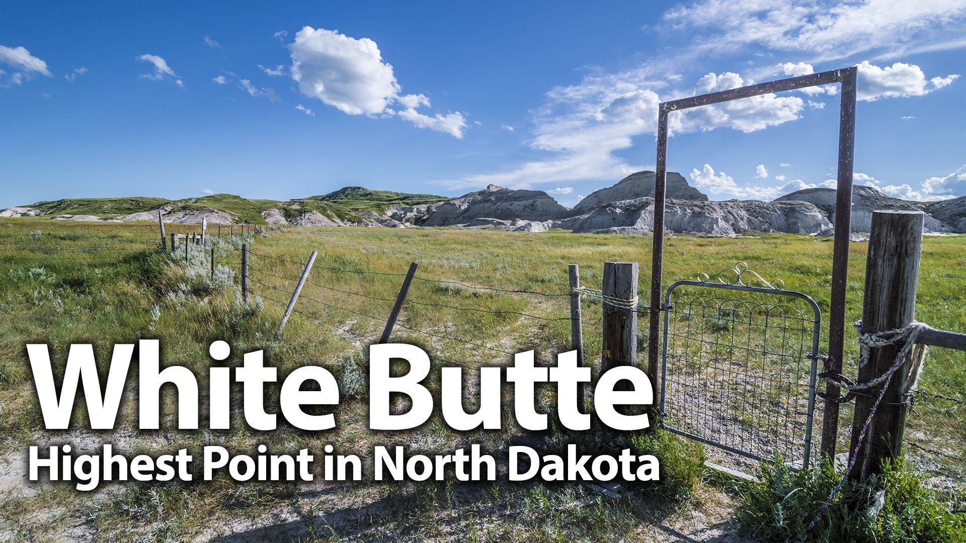 White Butte: North Dakota's Highest Point - YouTube