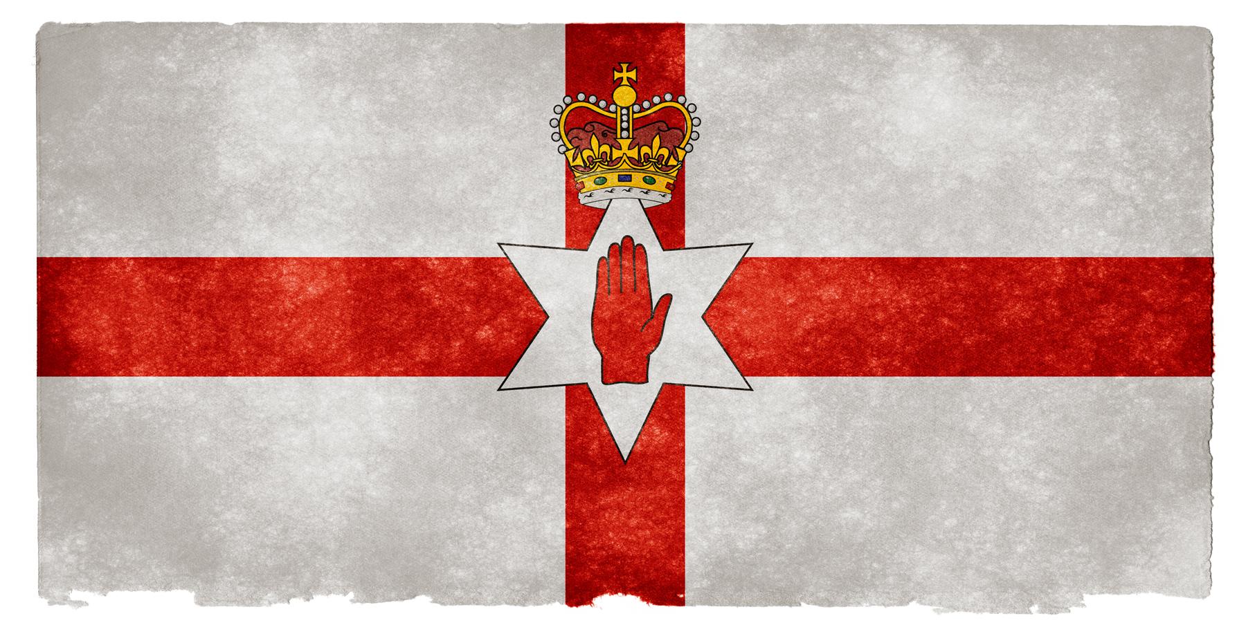 Northern Ireland Grunge Flag, Aged, Resource, North, Northern, HQ Photo