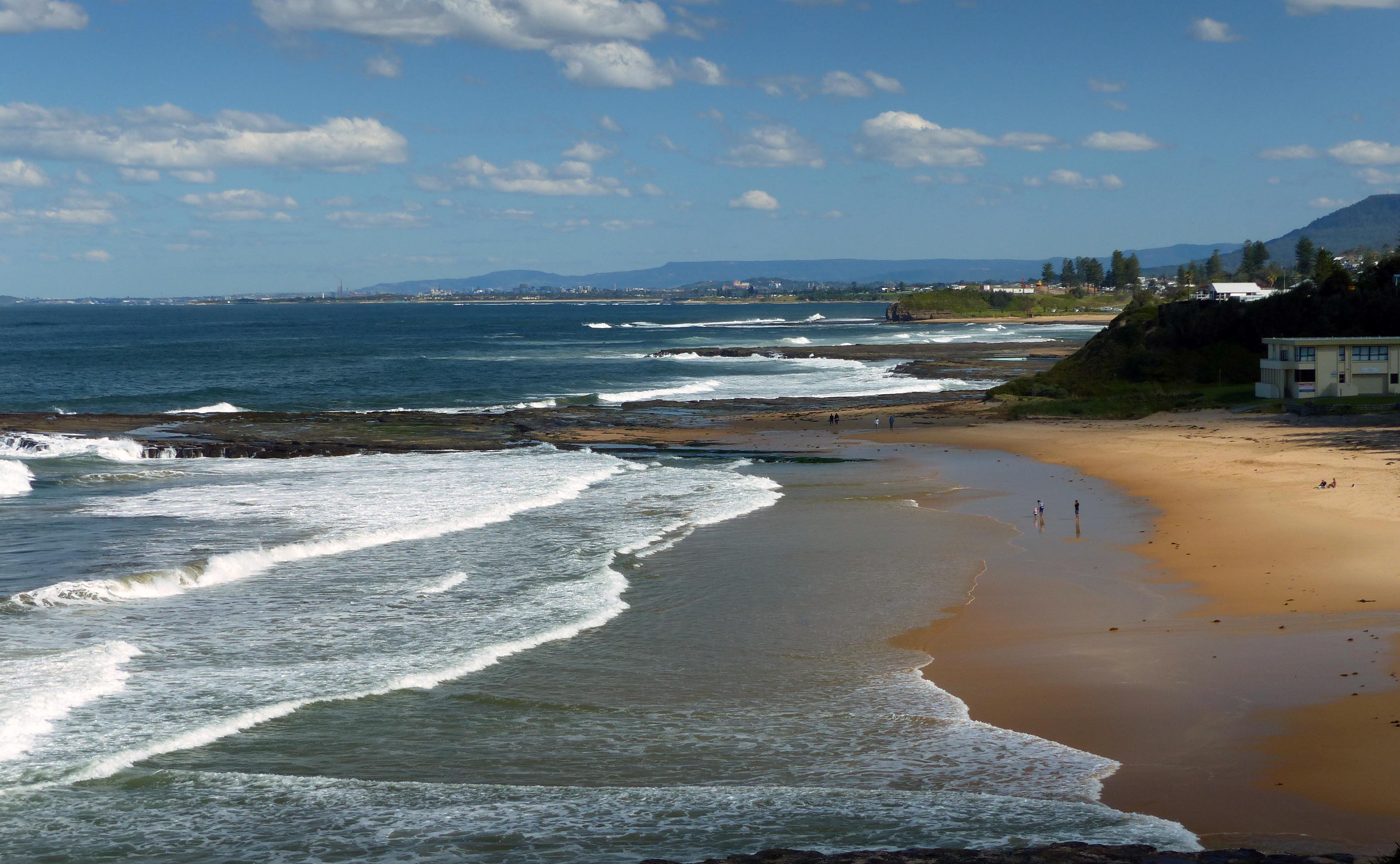 Nsw coastline. australia. photo