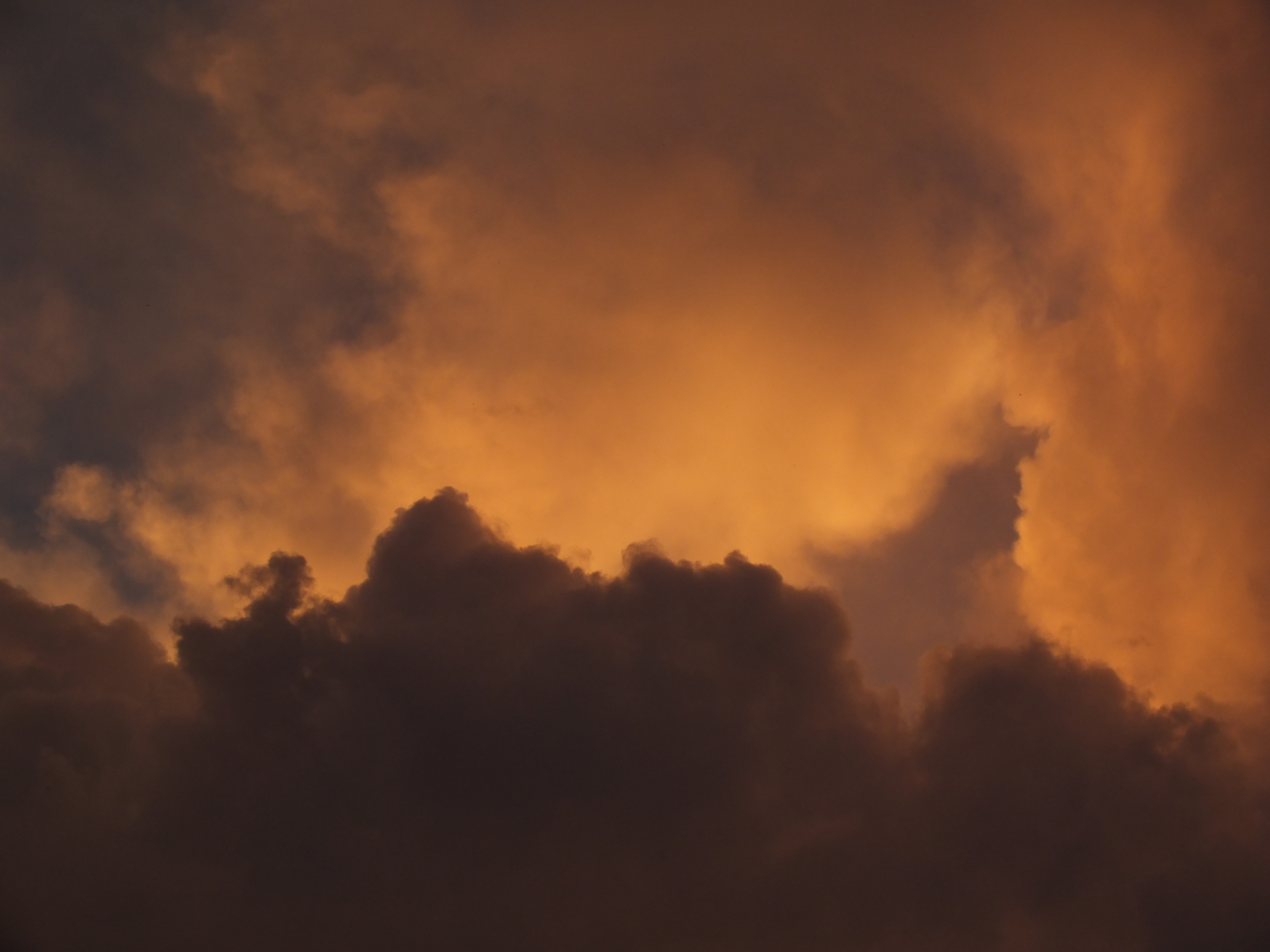 Nubes del atardecer, Atardecer, Cielo, Cloud, Clouds, HQ Photo