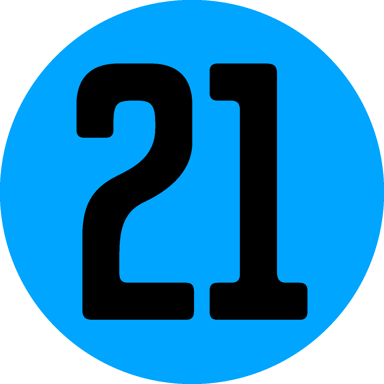 Number 21 - 967