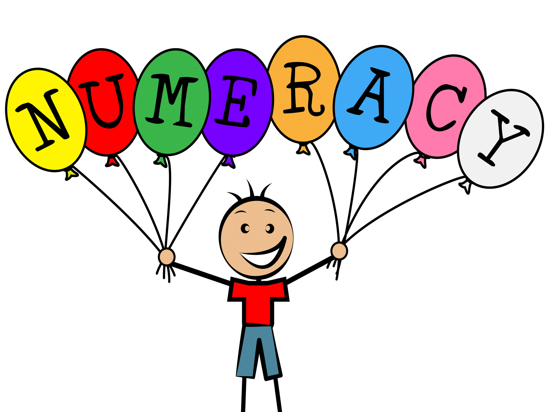 Numeracy Balloons Represents Youths Son And Numerical, Balloon, Number, Youth, Youngsters, HQ Photo