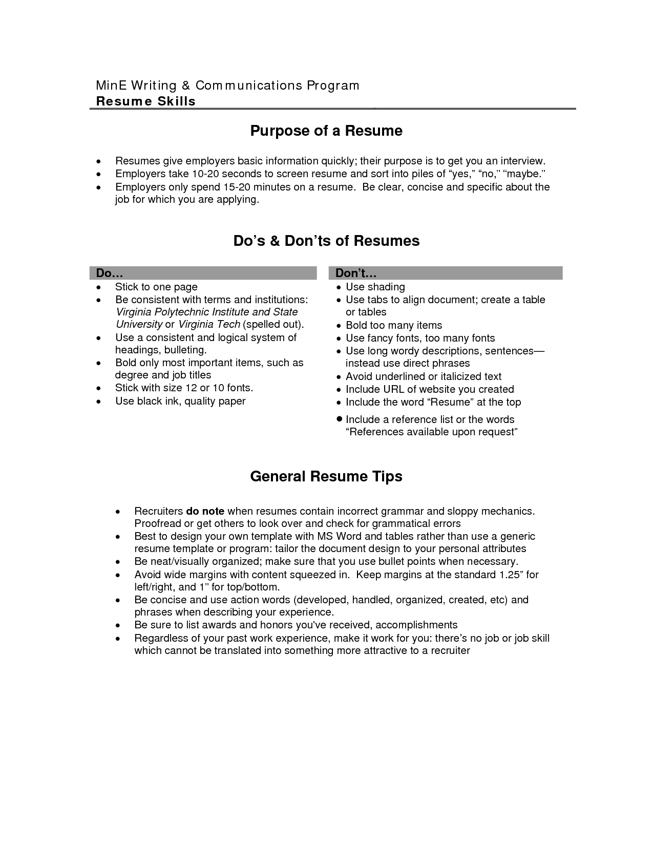 Good Objectives For A Resume - essayscope.Com