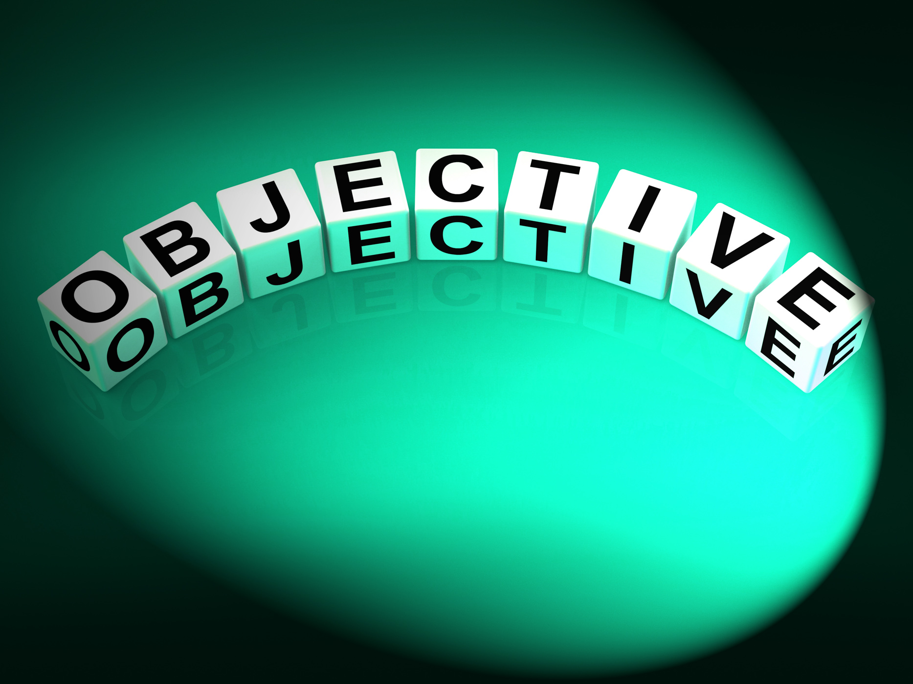 Objective Dice Mean Goals Targets and Objectives, Achieve, Intent, Target, Plan, HQ Photo