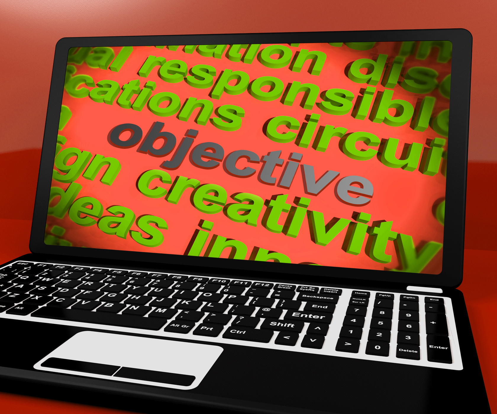 Objective Screen Means Purpose Goal And Target, Aims, Objectives, Targets, Target, HQ Photo