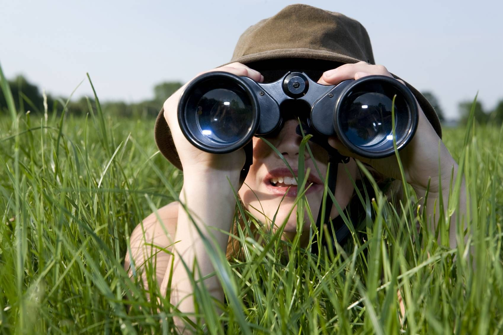 Another important skill of innovation is observing. Binoculars are ...