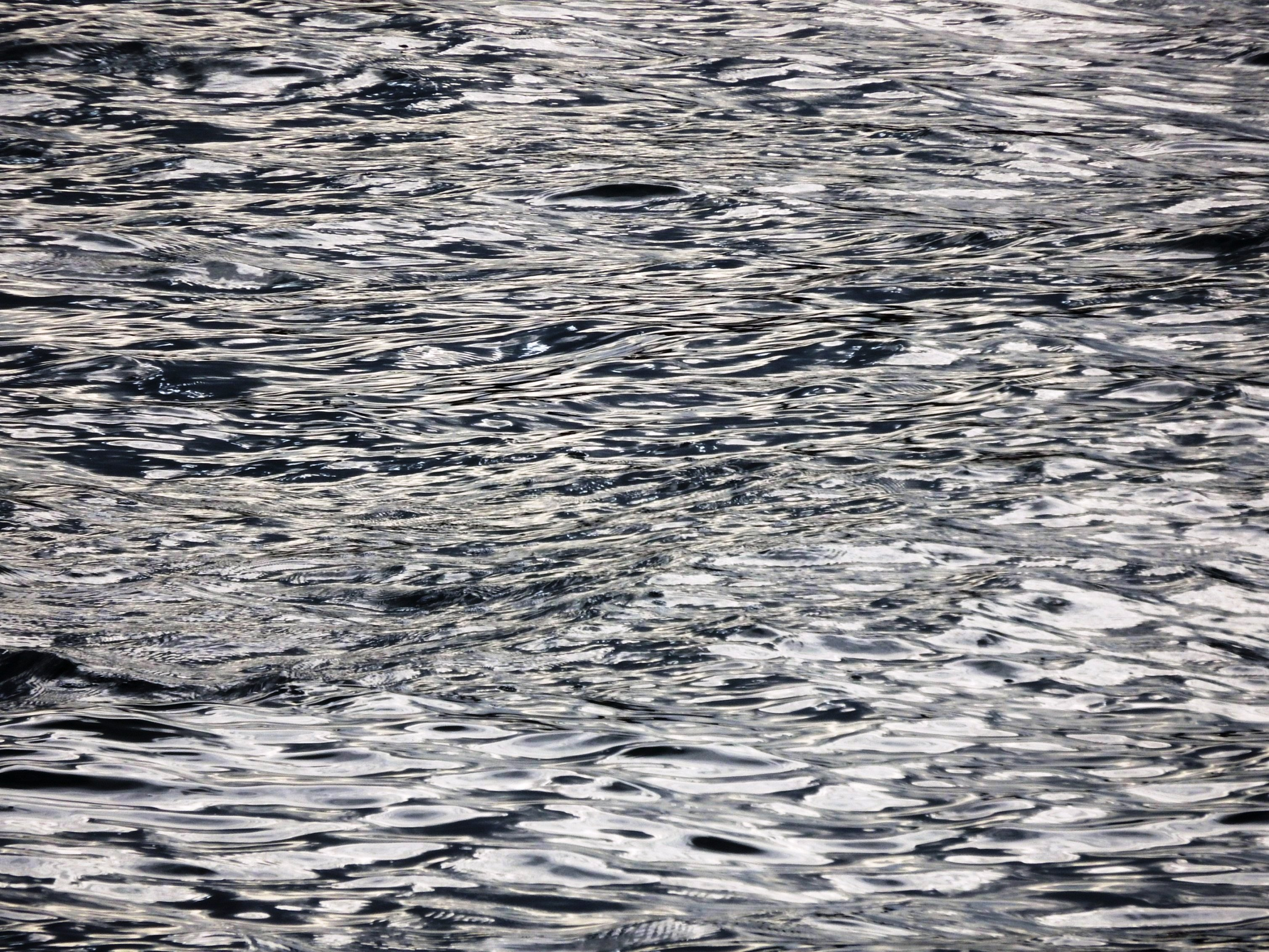 Ocean ripples and waves texture photo