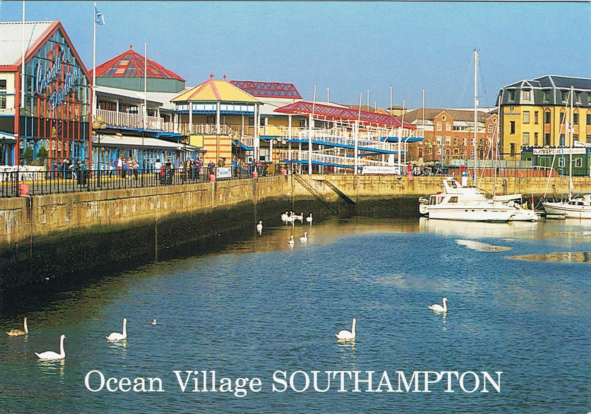 Ocean Village 1987 | Places I've lived | Pinterest | Southampton ...