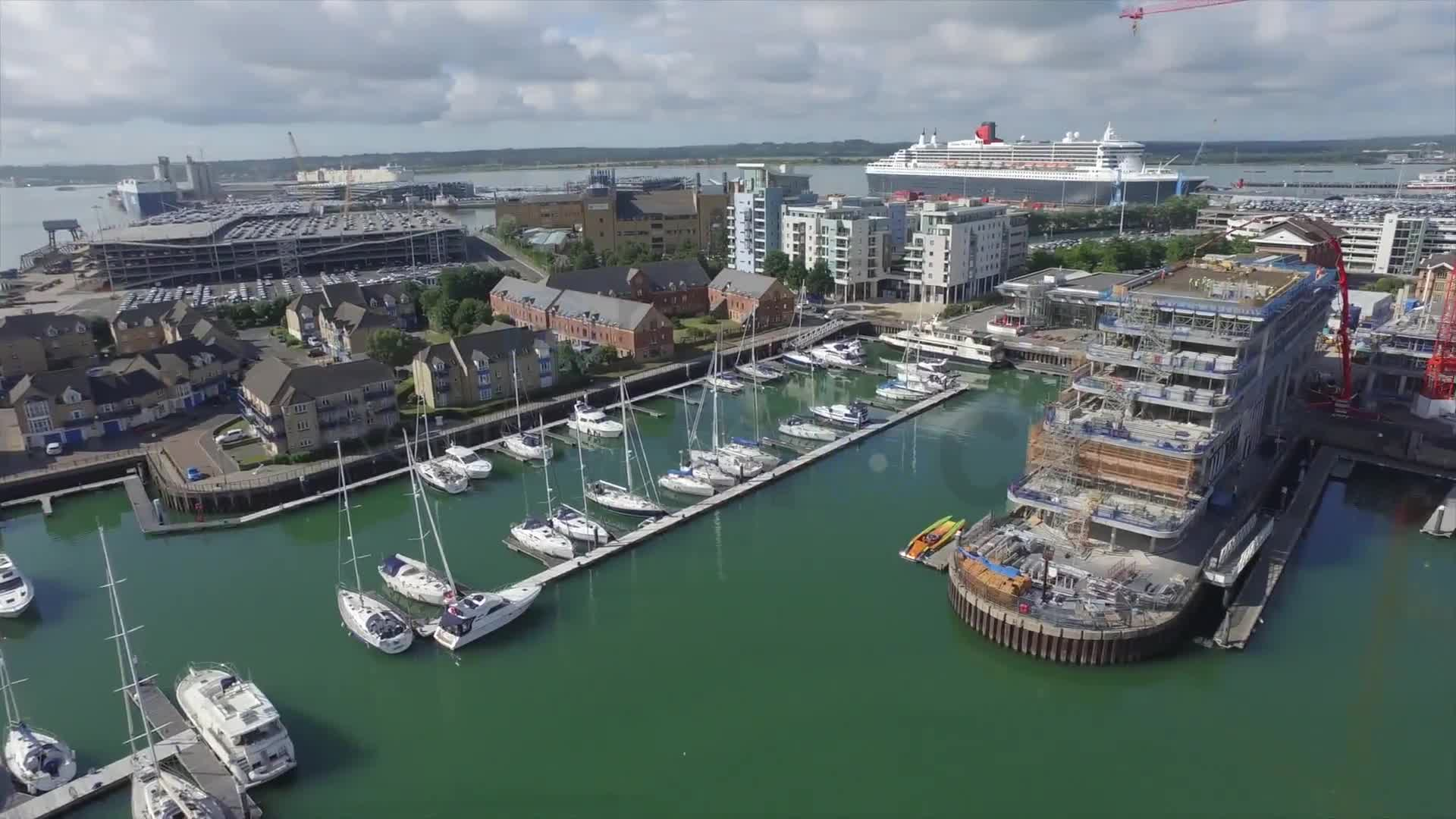 Southampton Marina | Drone Safe Register Stock