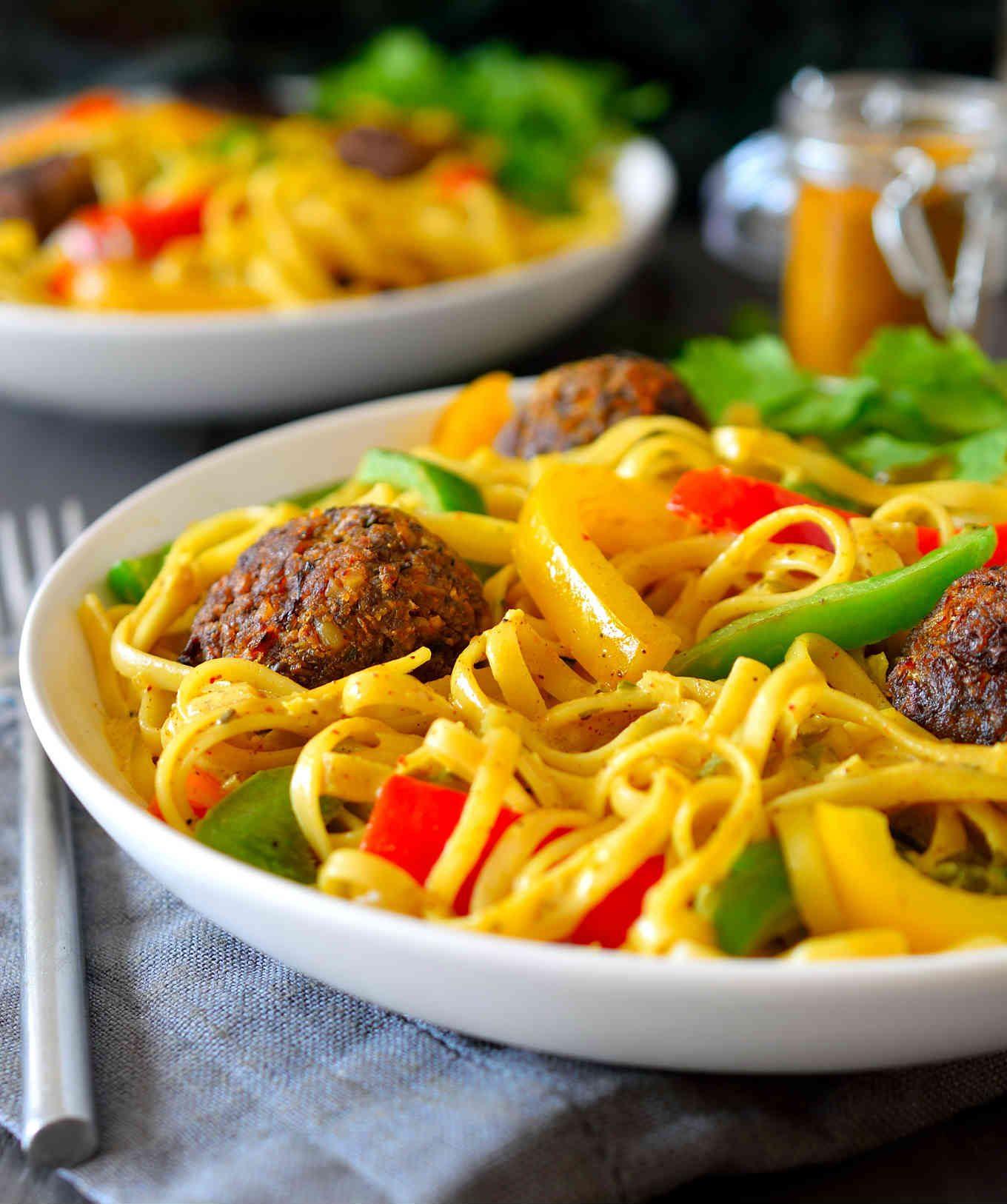 Rasta Pasta Recipe | Cilantro and Citronella