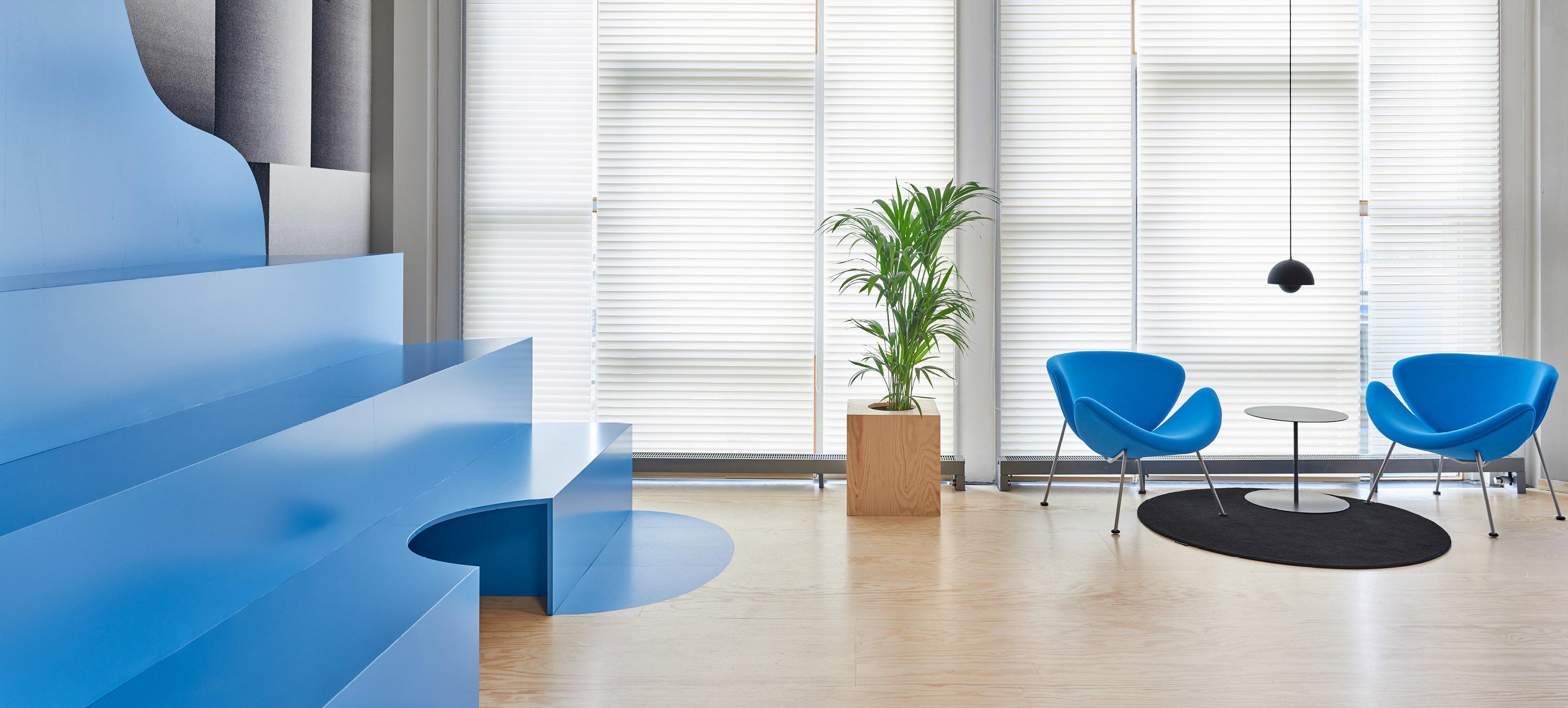 Colourful Office Interior Design – Fubiz Media