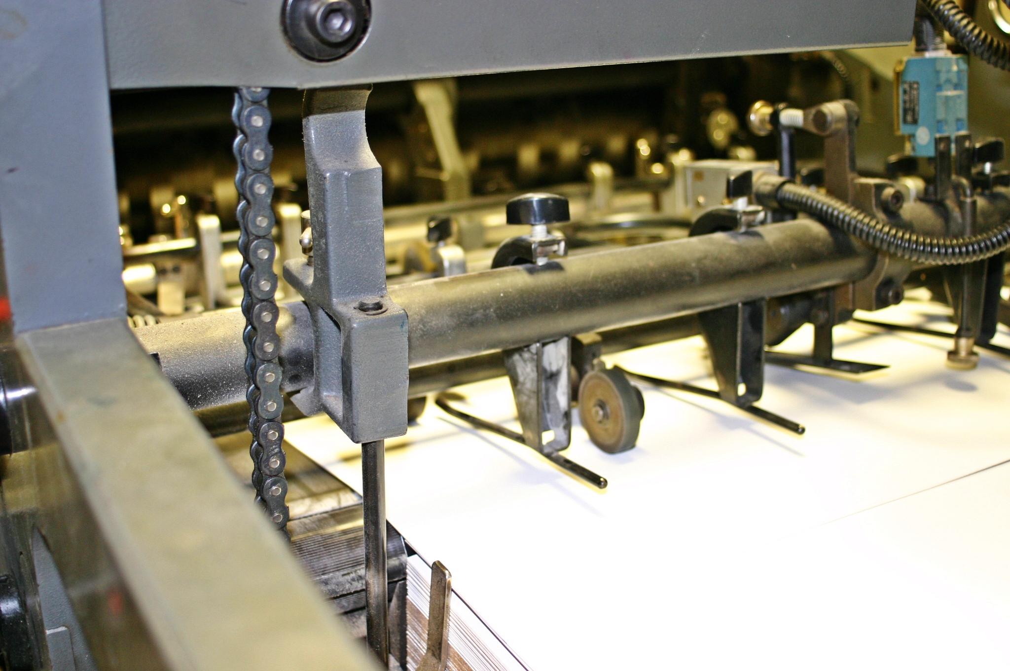 Offset printing machine photo