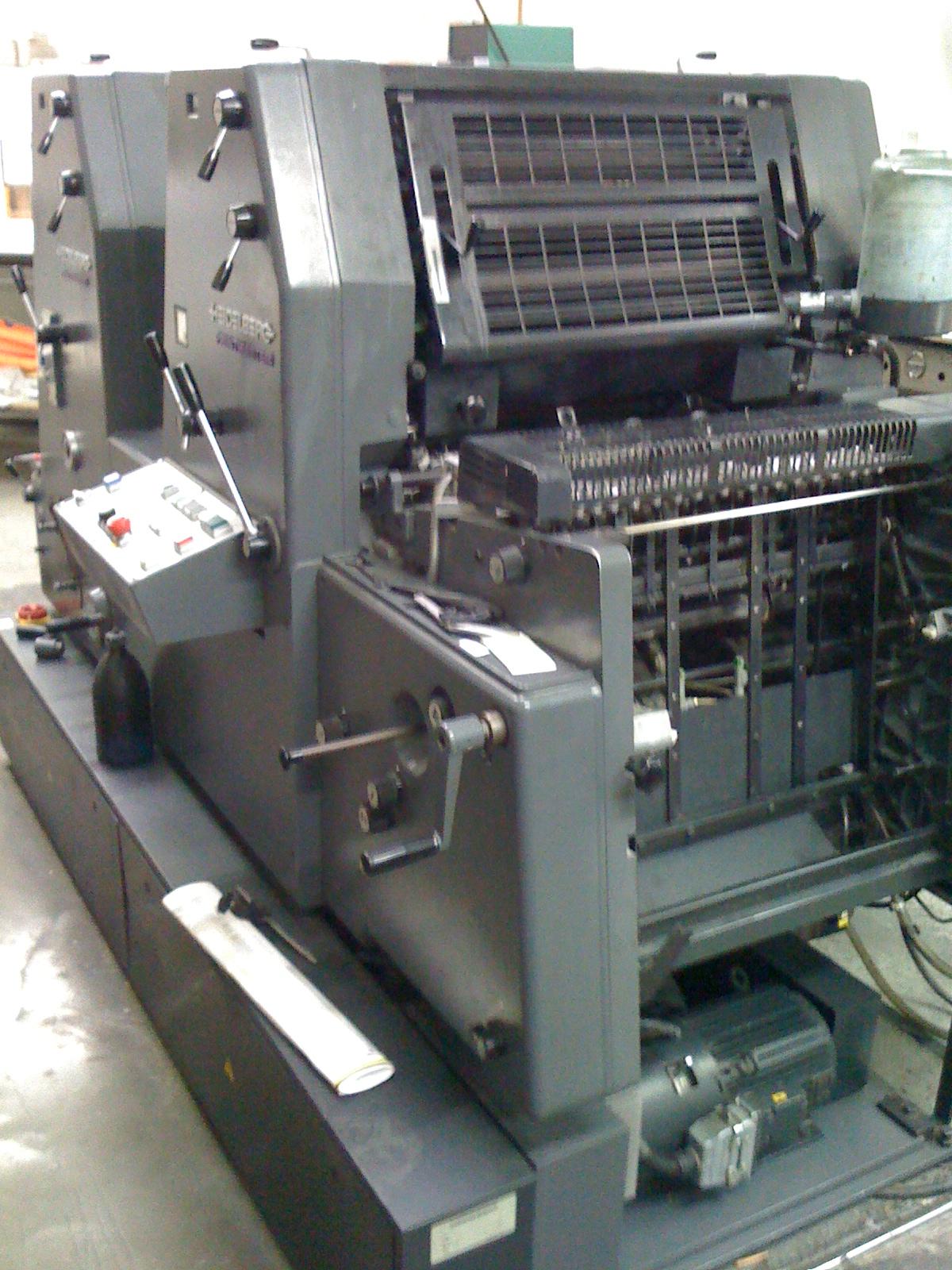 Heidelberg GTO 52-2+   Printing Machines