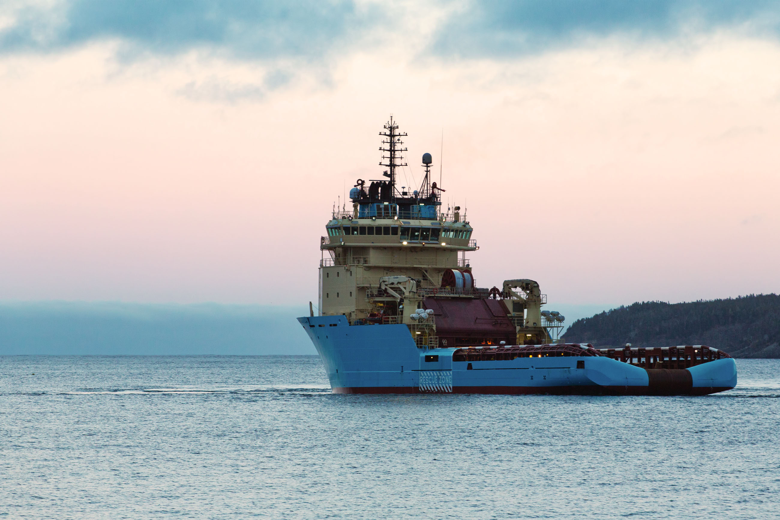 Offshore supply vessel photo