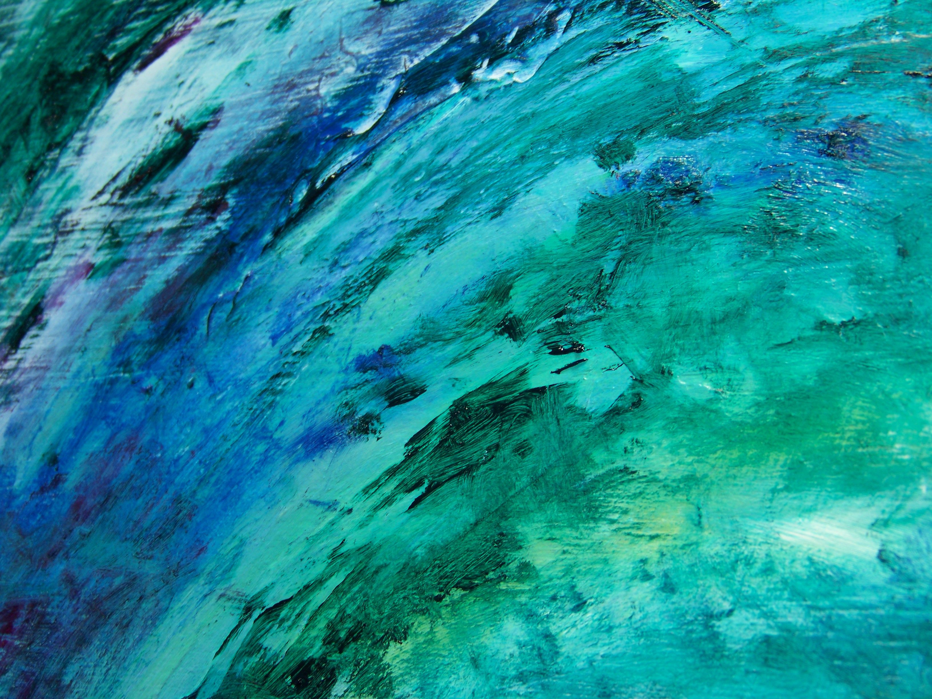 Painted abstract texture photo