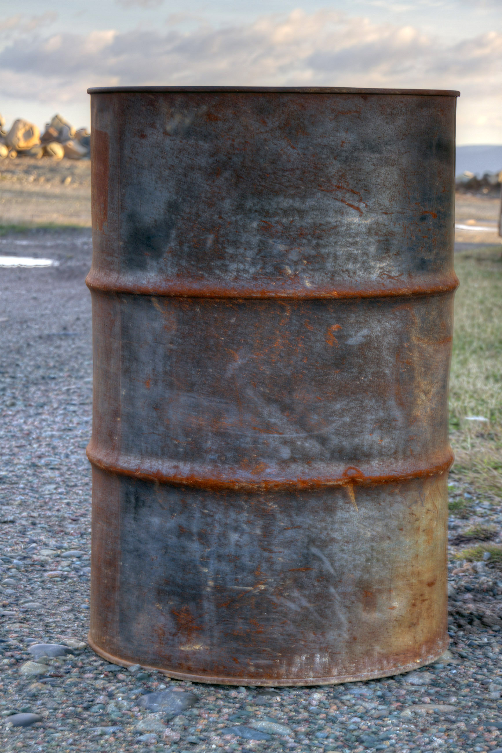Oil Drum, Pollute, Industry, Iron, Isolated, HQ Photo
